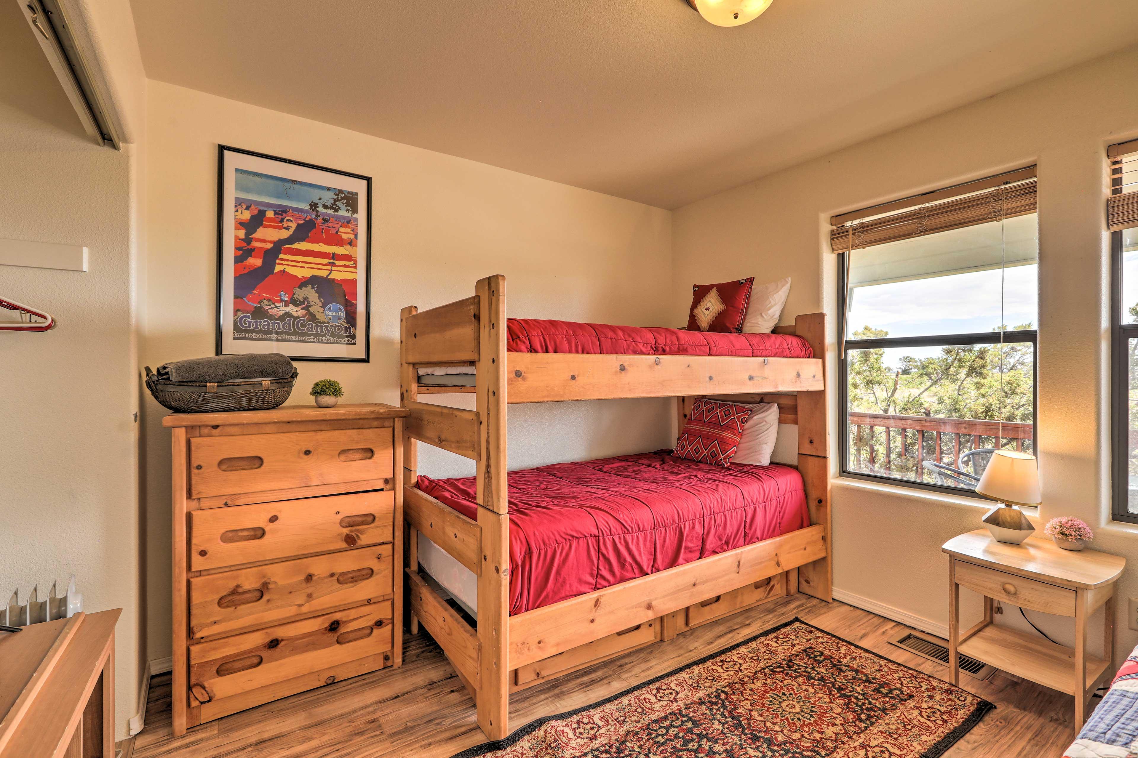 Bedroom 3 | Twin Bunk Bed, Twin Bed