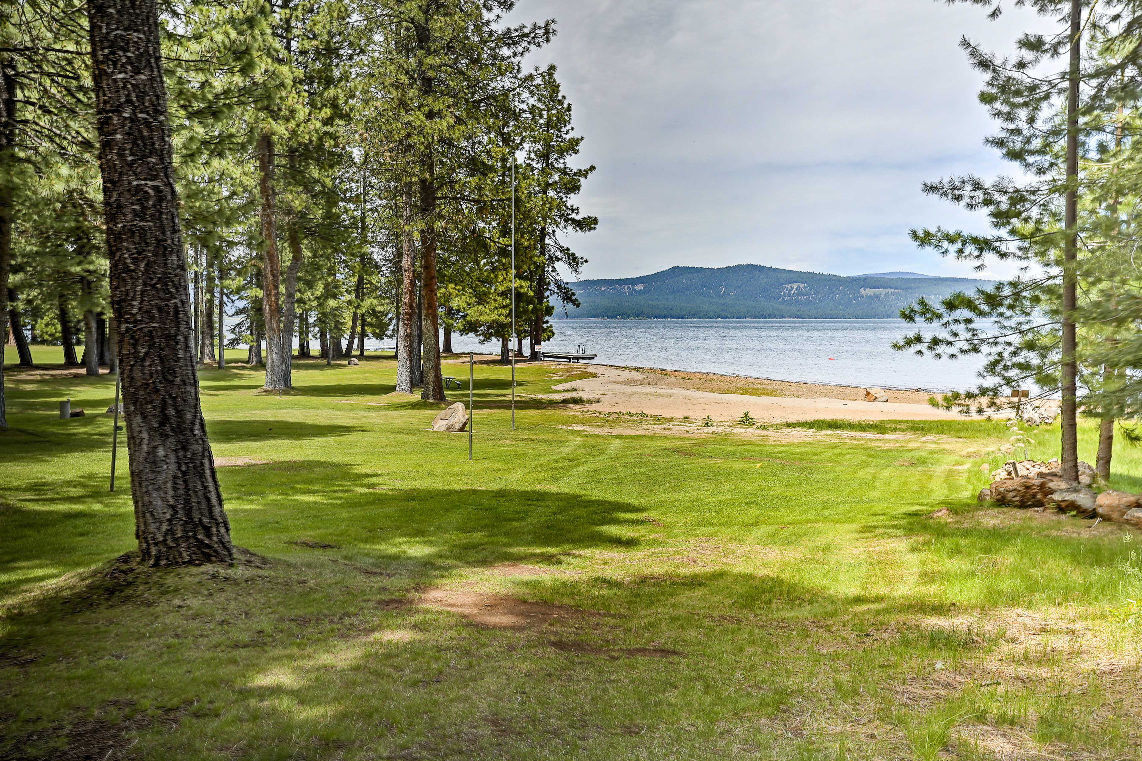 Spend the day floating on Lake Almanor just across the street!