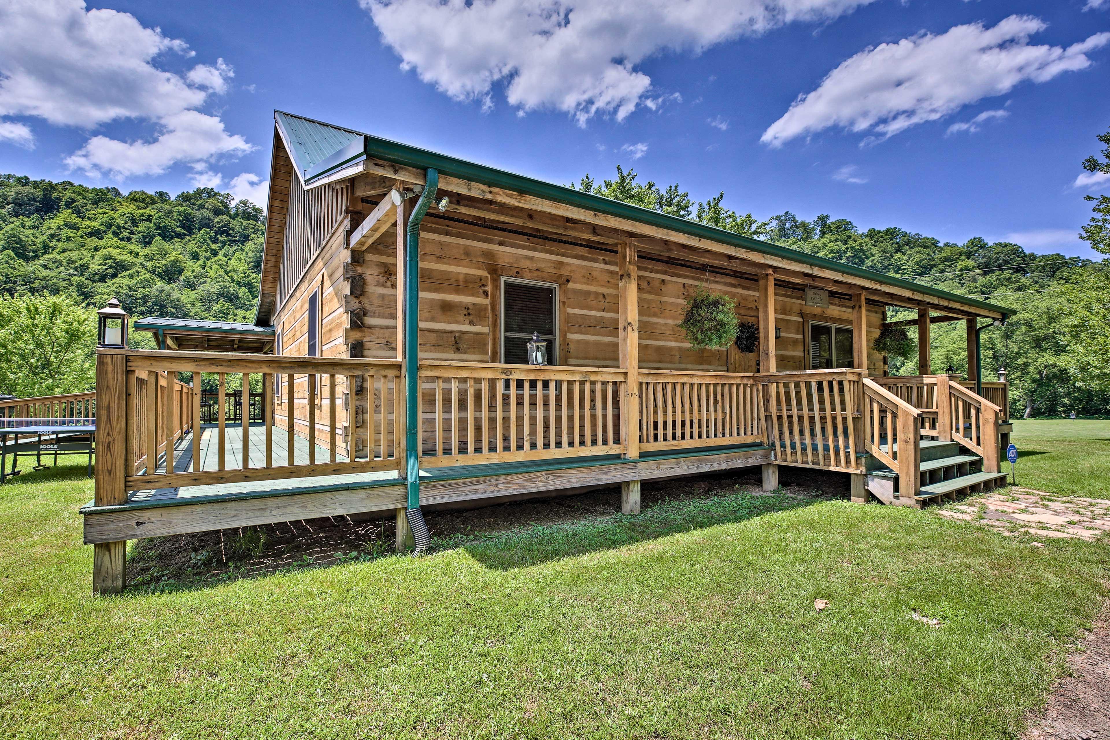 1-Story Cabin | Wheelchair Ramp