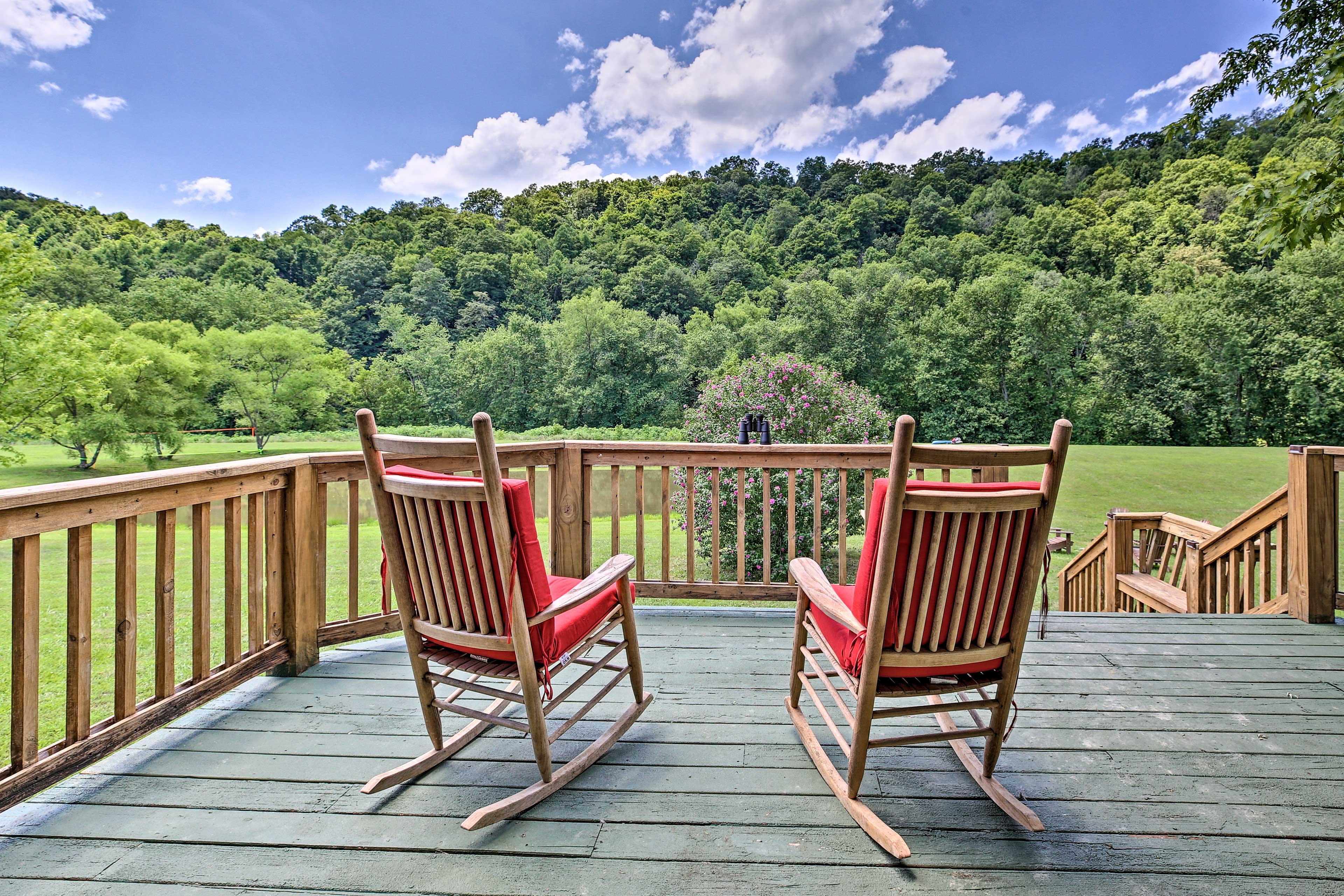 Beattyville Vacation Rental | 3BR | 2BA | 1,200 Sq Ft