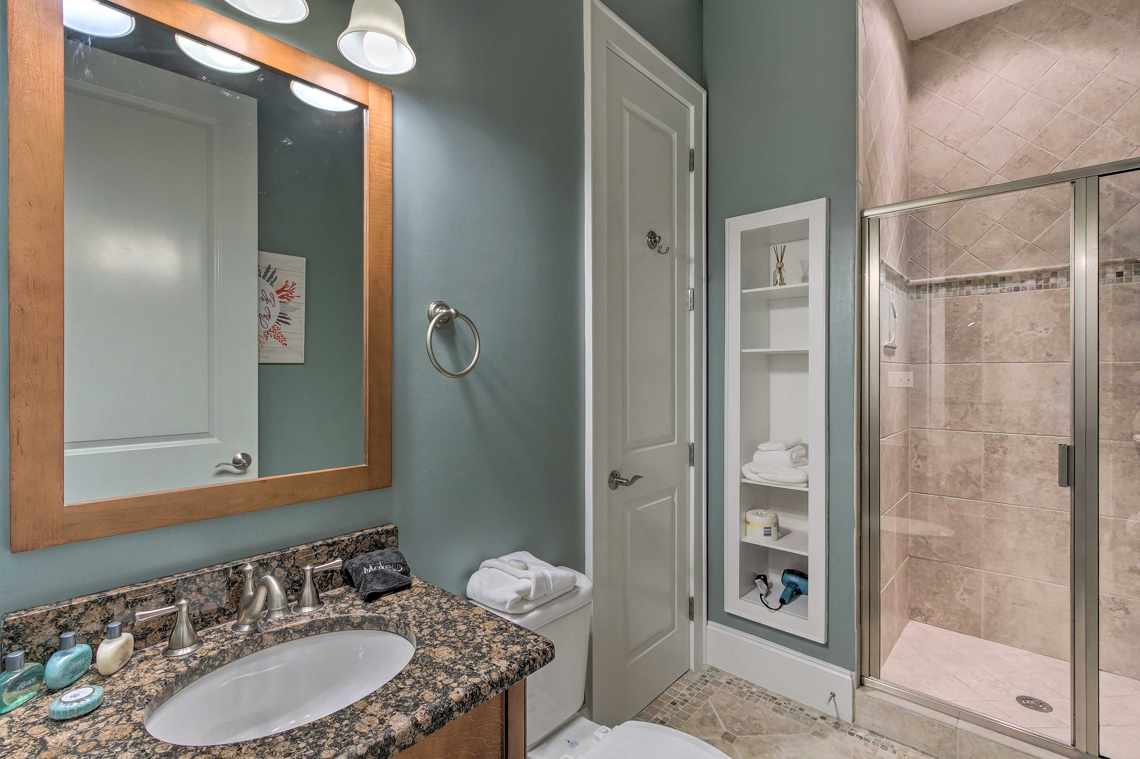 There are 4 full bathrooms in this townhome!