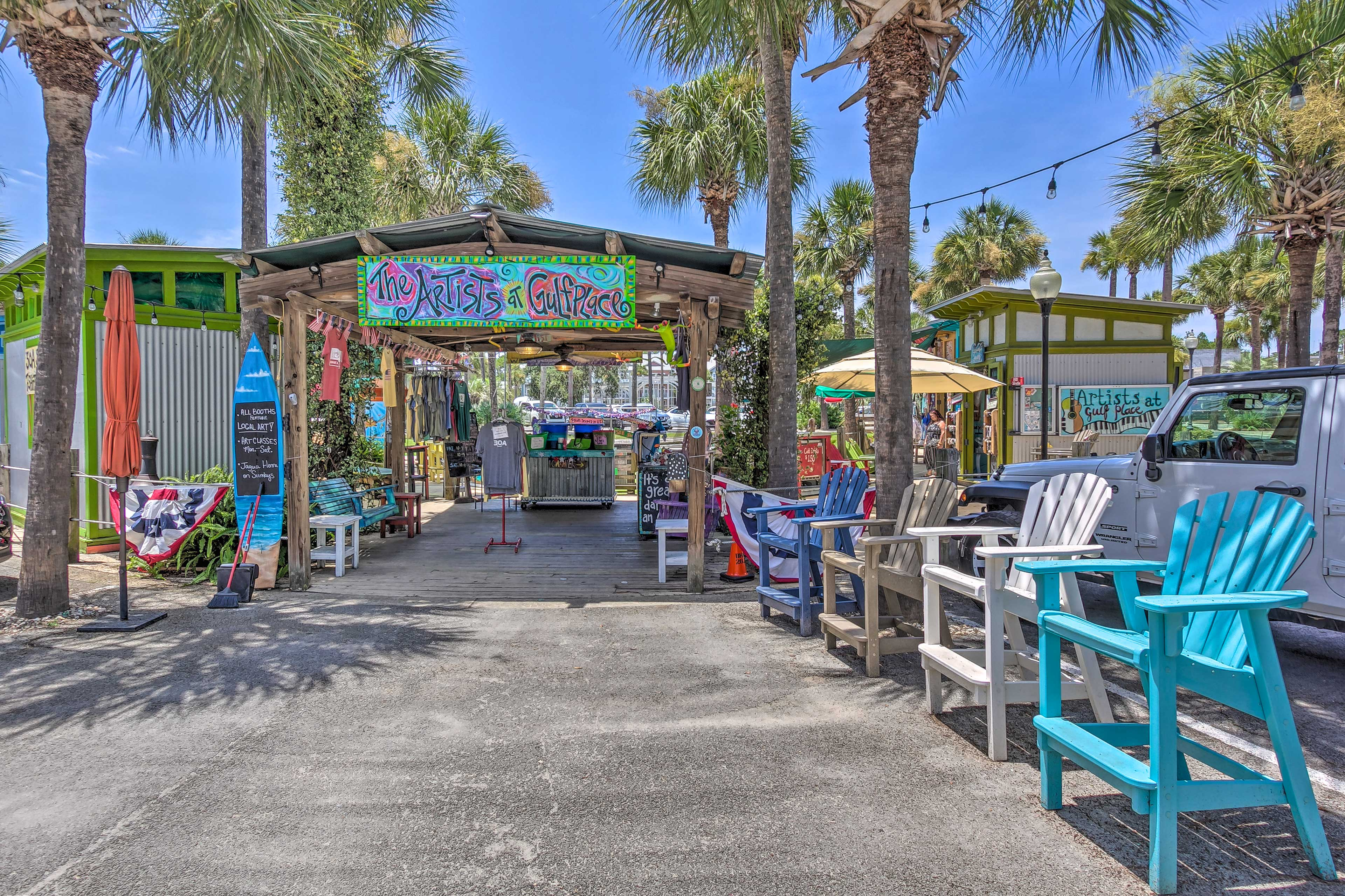 The Artists at Gulf Place have everything you need for a souvenir.