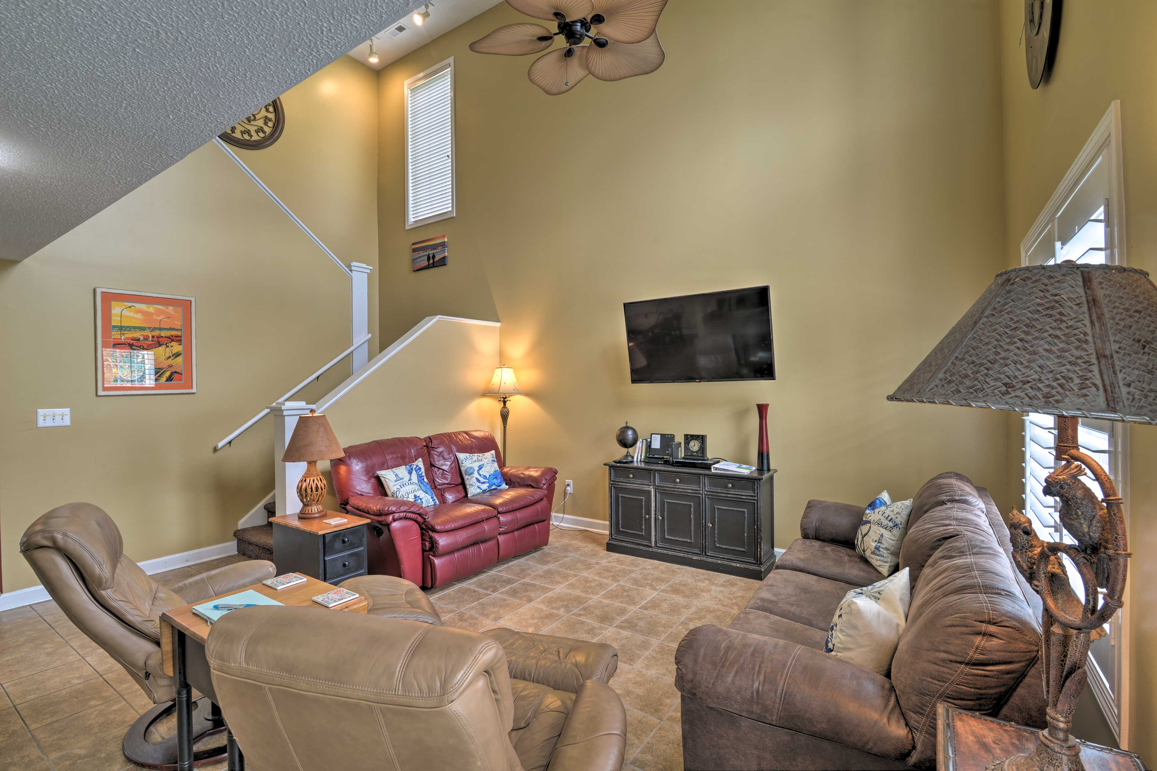 Inside the home, you'll find numerous amenities, plus 4 bedrooms and 4 baths.