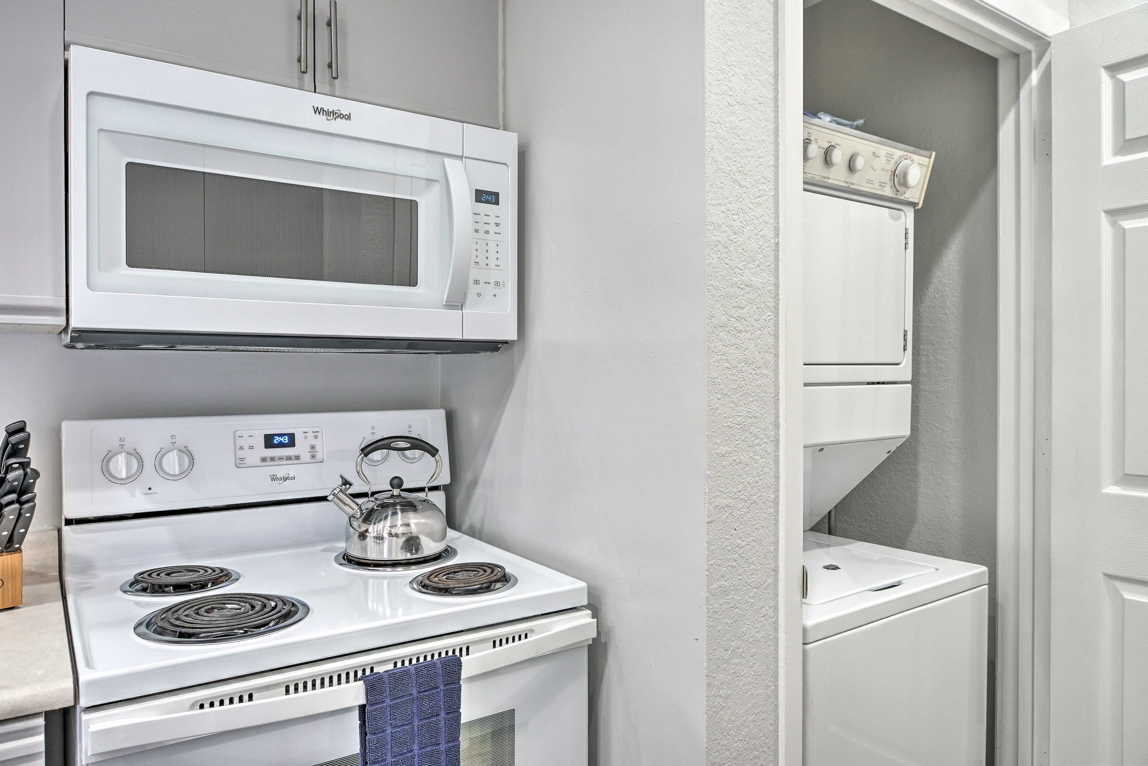 Kitchen/Laundry Nook | Detergent & Dryer Sheets Provided