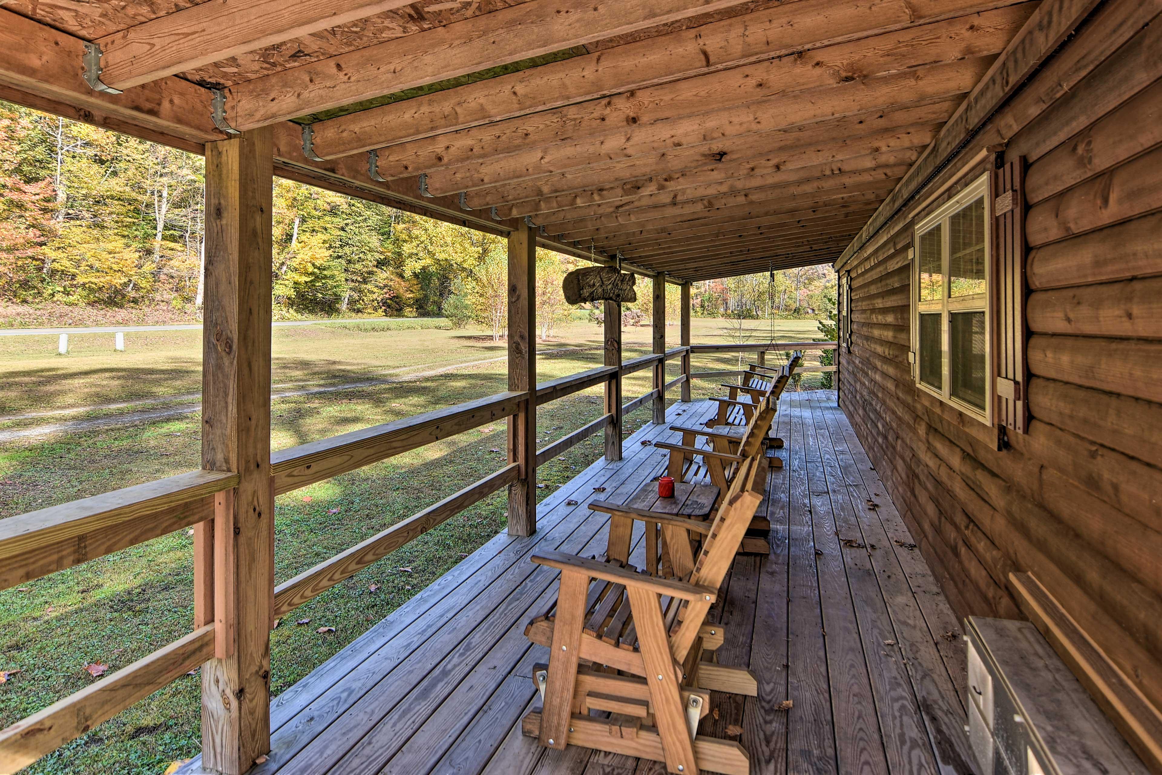 Furnished Wraparound Porch