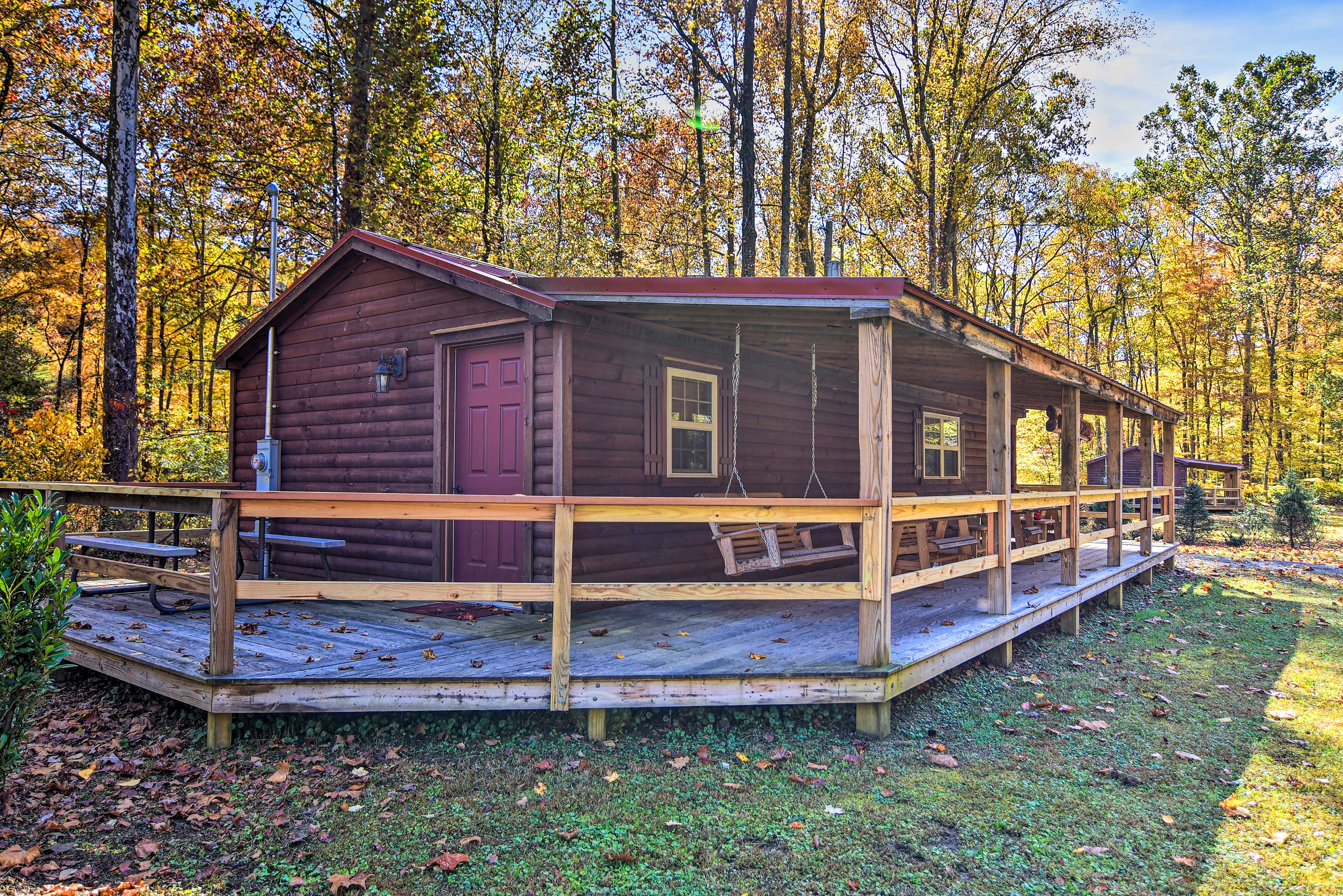 Wraparound Porch | Additional Accommodations Available