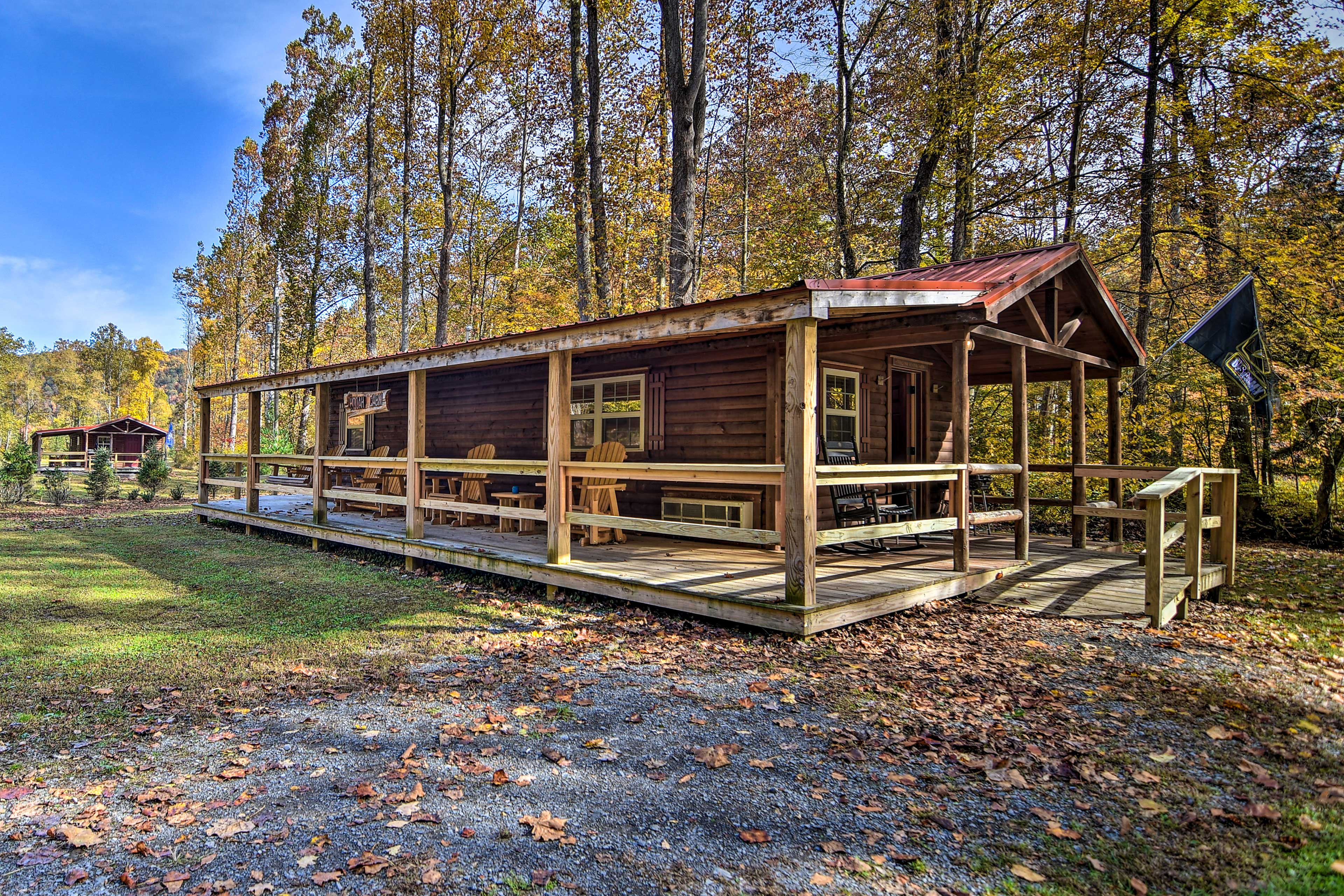 Cabin Exterior | Step-Free Access | Additional Accommodations Available