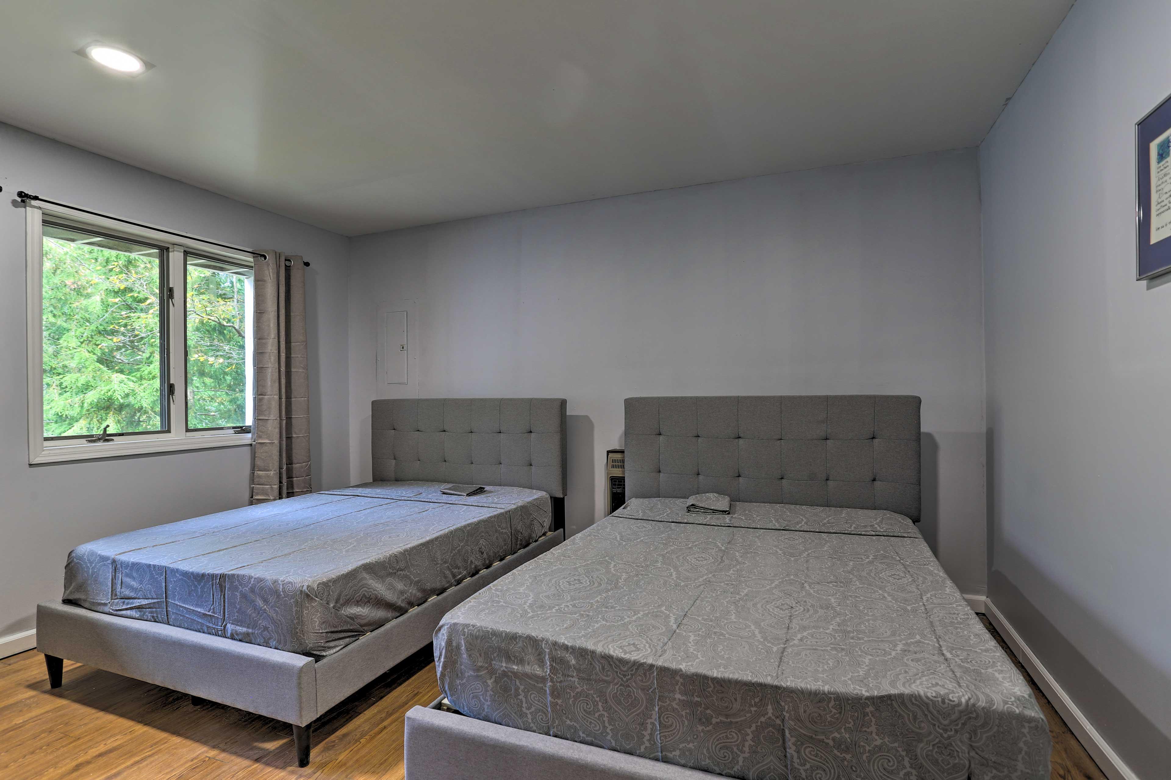 Bedroom 4 | 2 Full Beds