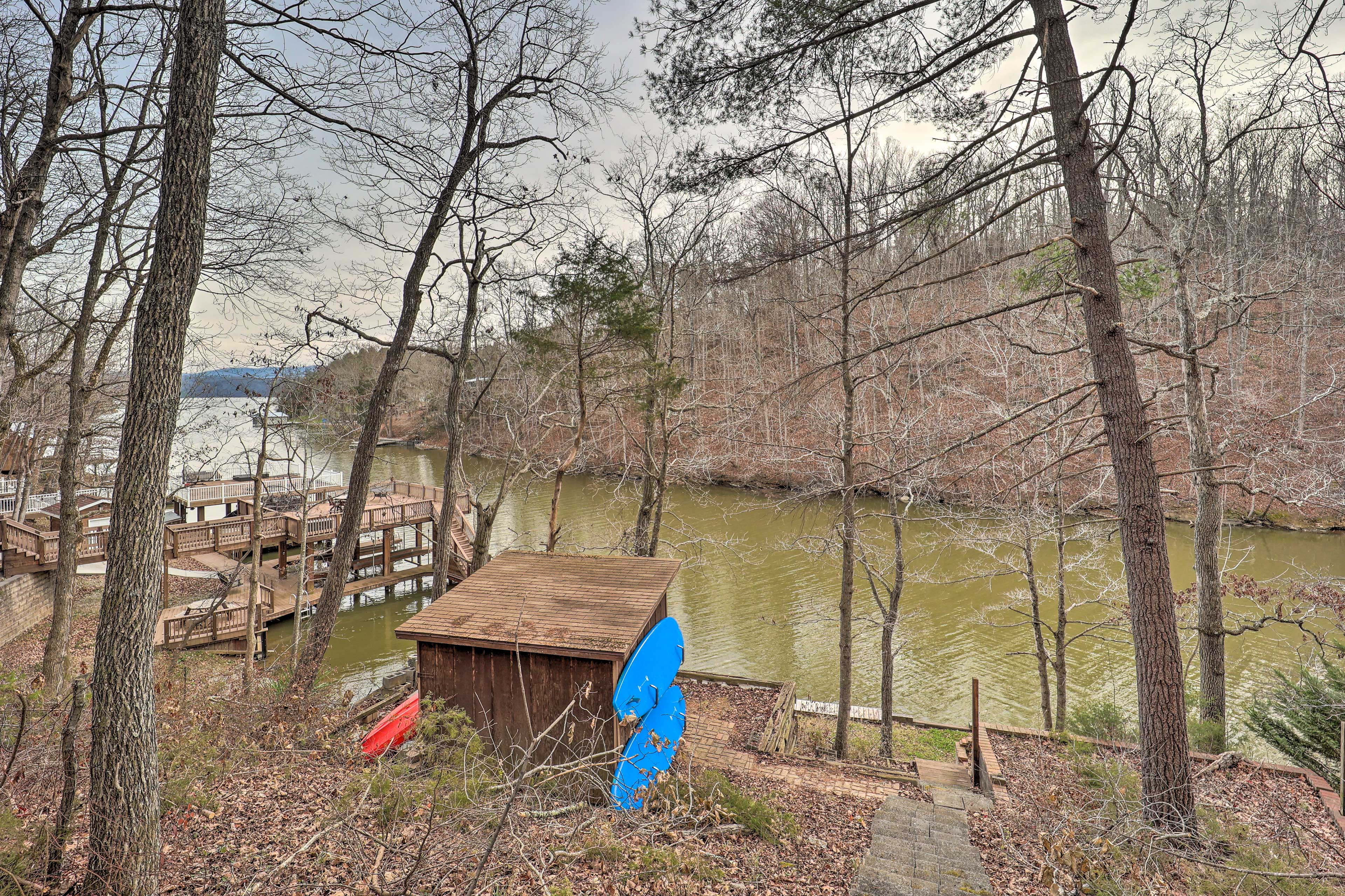 Private Dock | Stairs Required