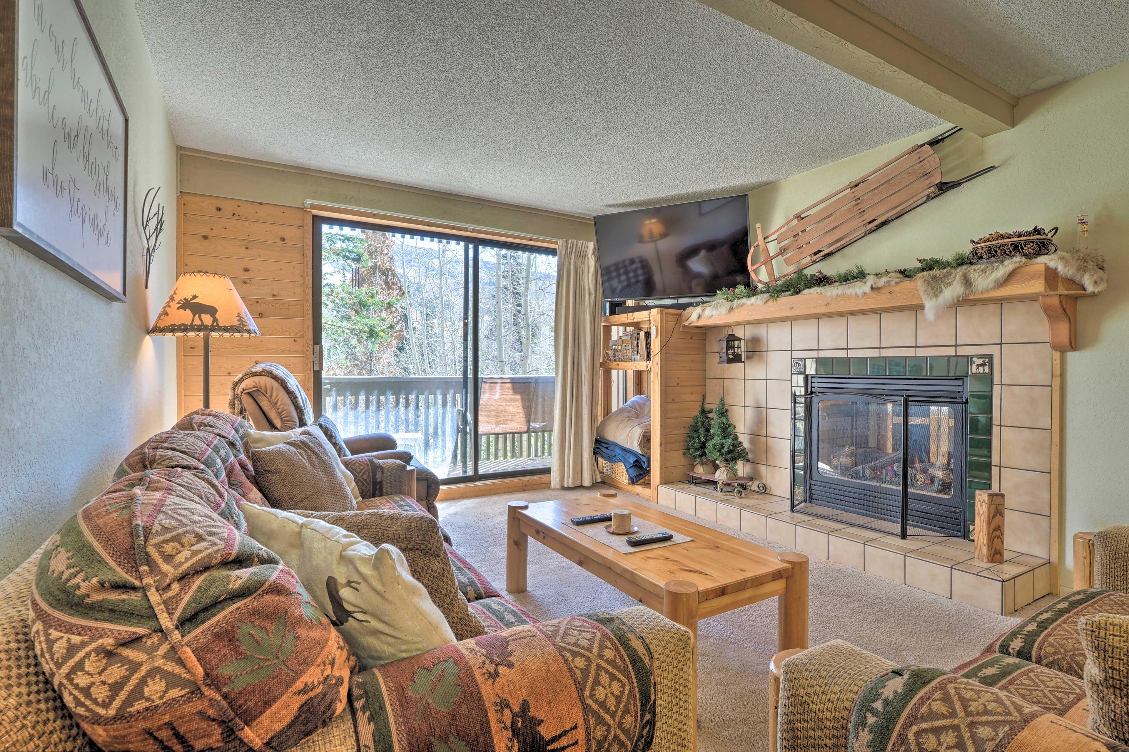 Main Living Space | Sleeper Sofa