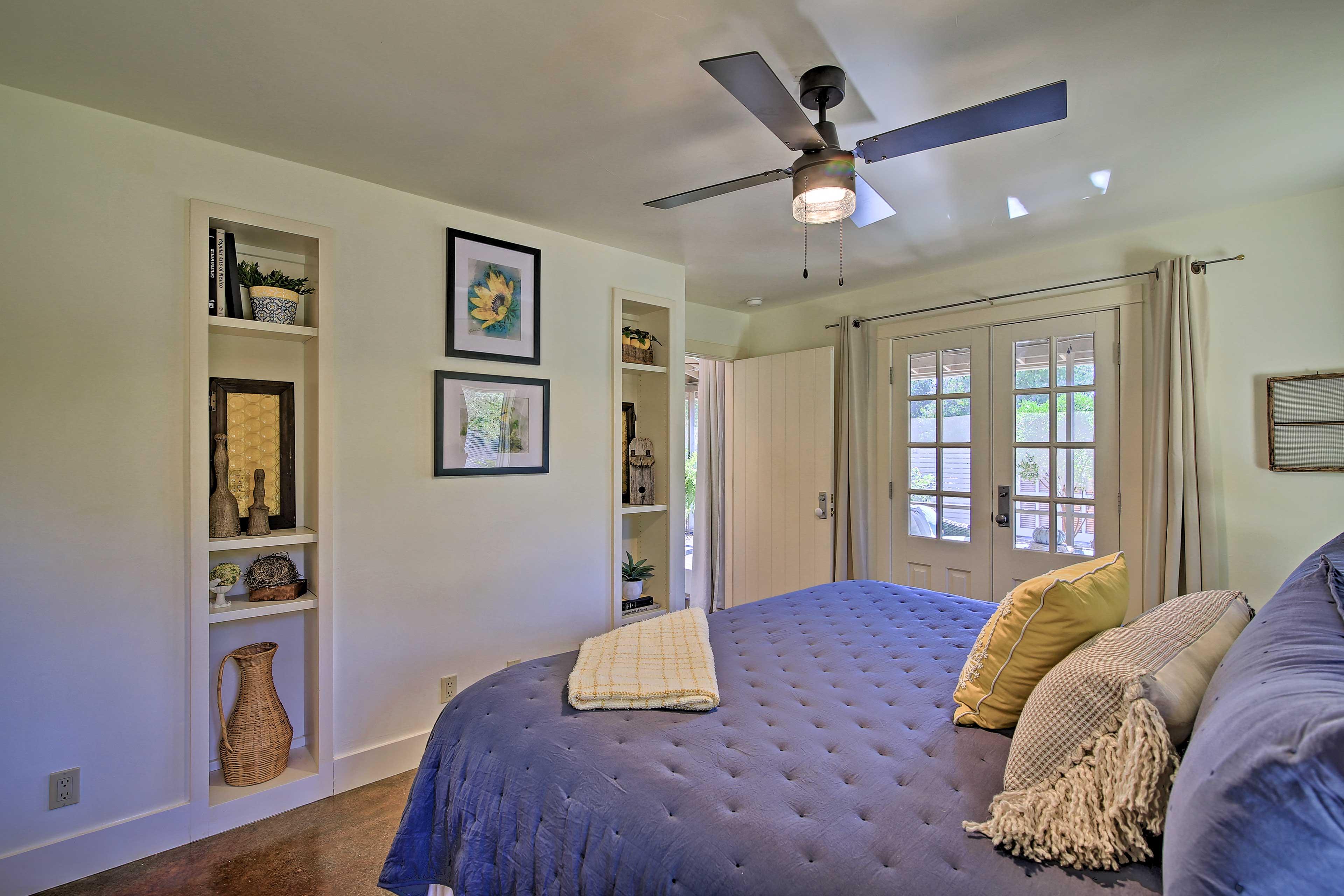 Bedroom 2 | Access to Outdoor Patio
