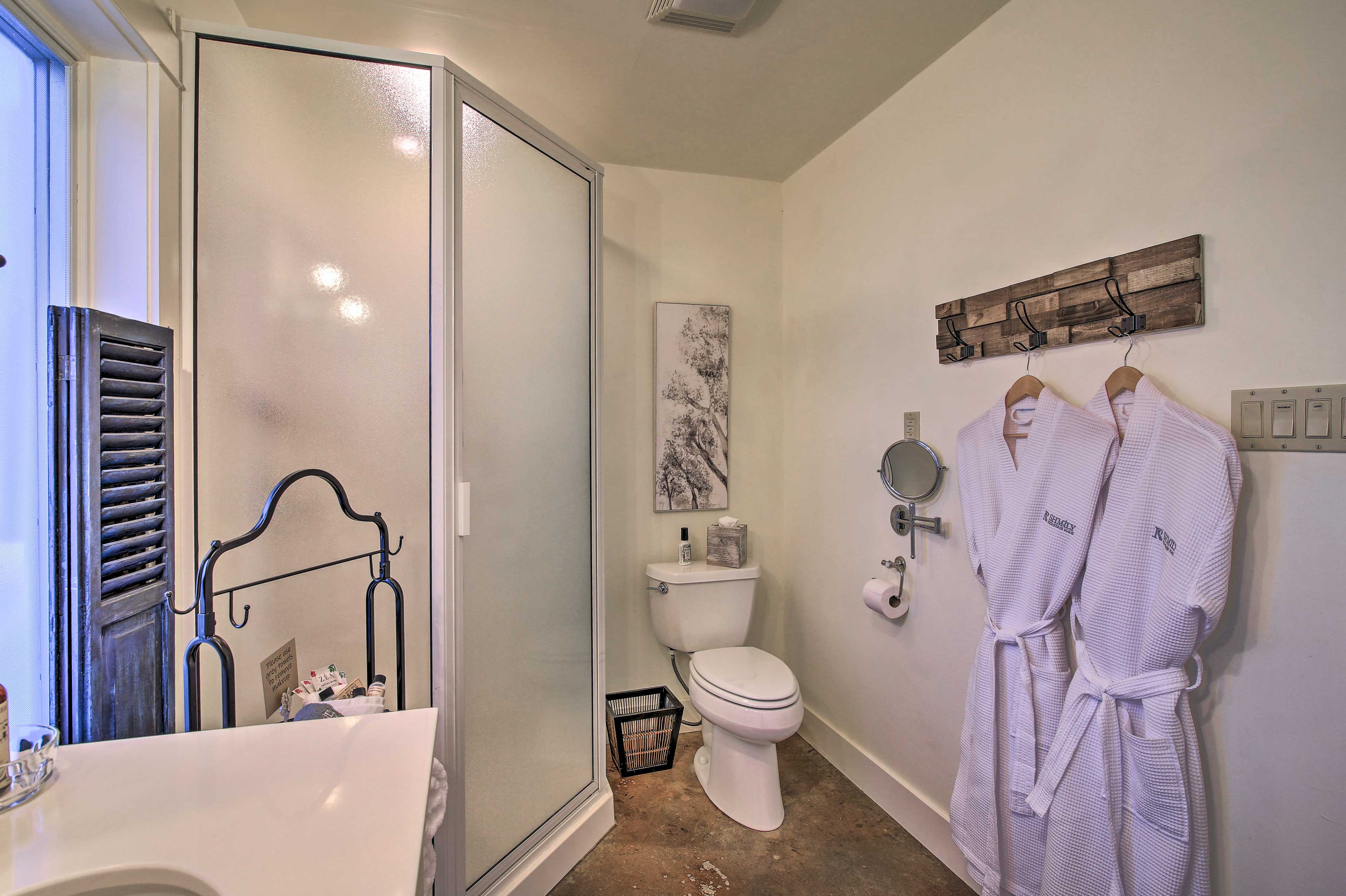 Bathroom 1 | Walk-in Shower