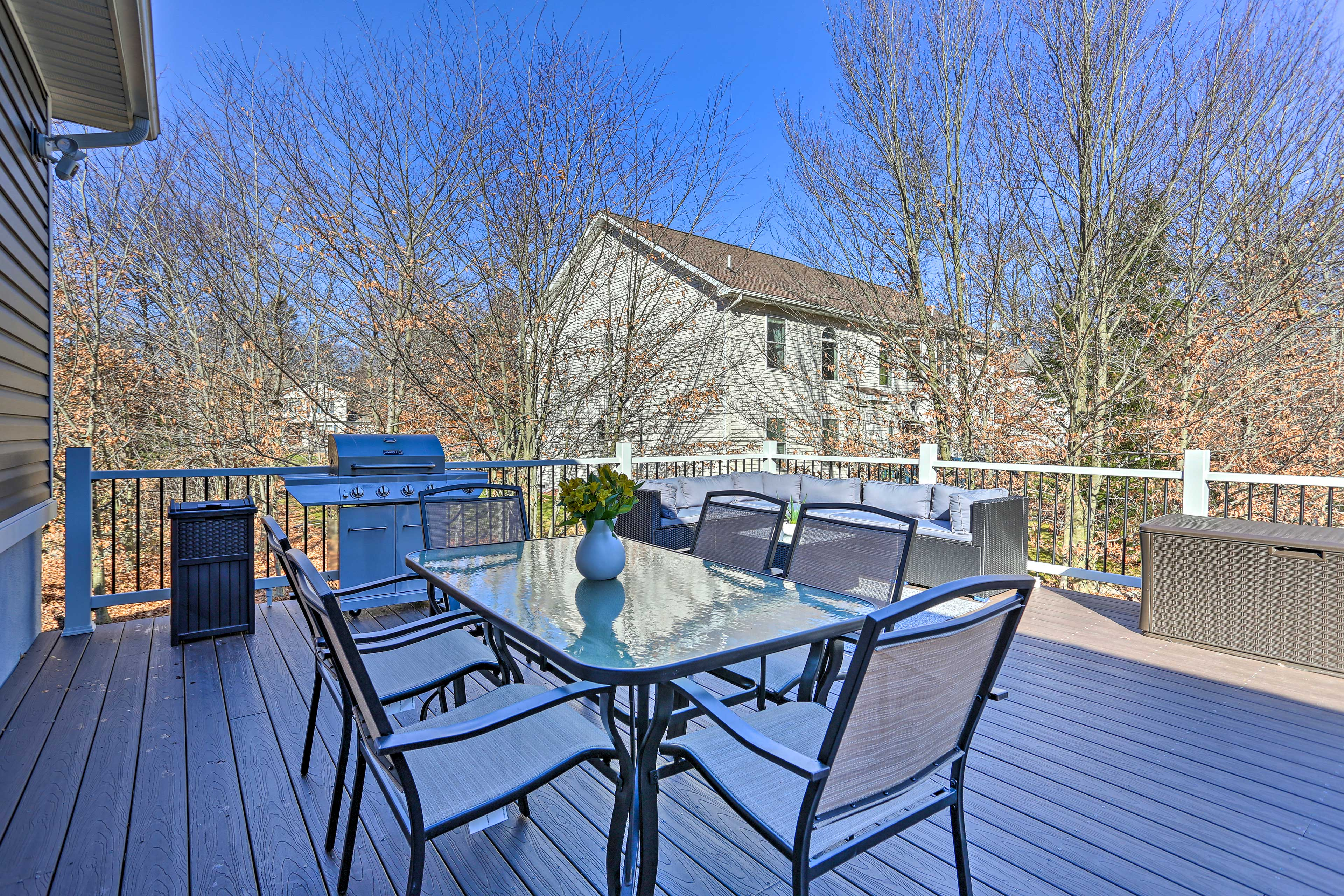 Deck | Access off 2nd Floor | Gas Grill