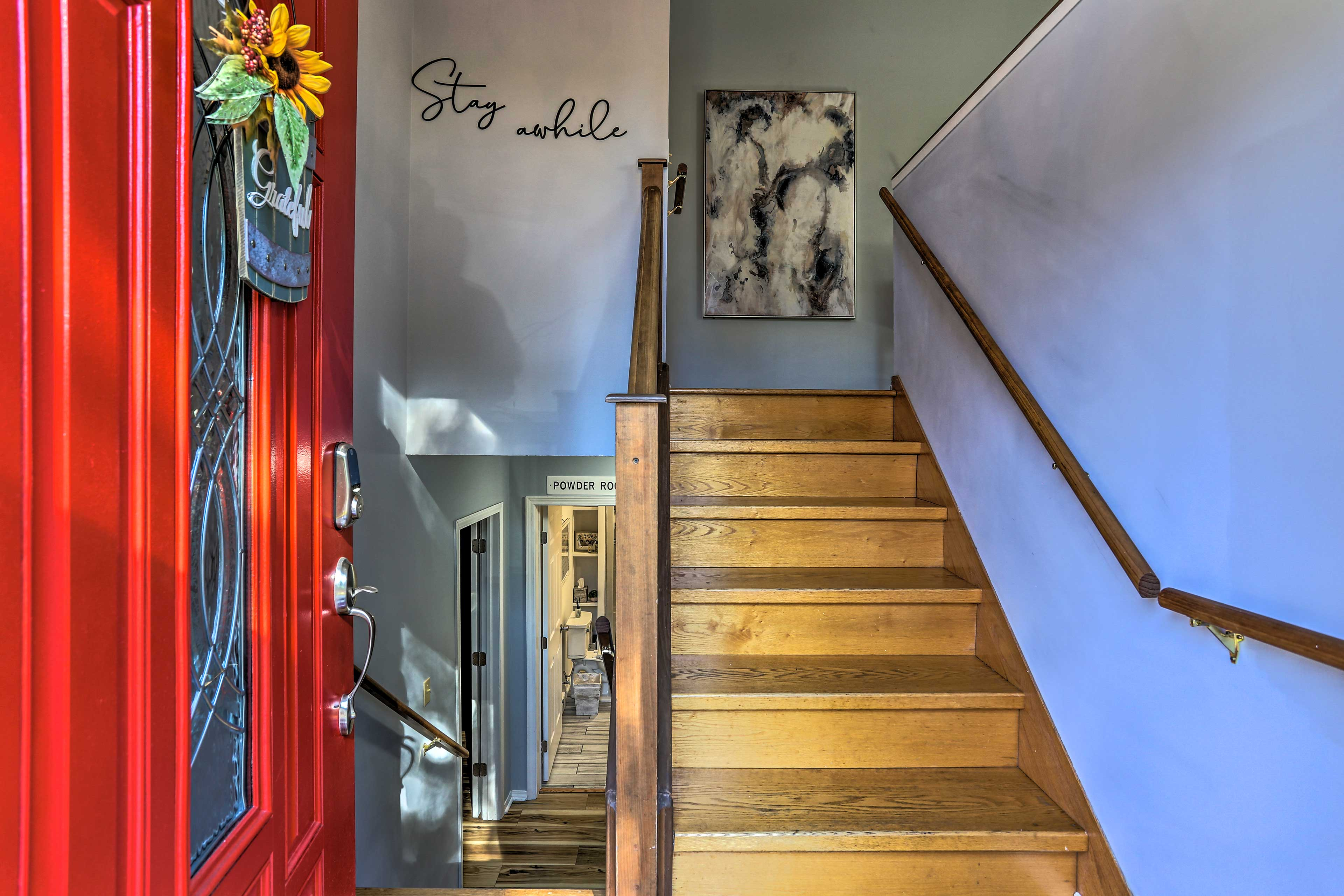 Home Entrance | Keyless Entry | Steps Required Throughout Property
