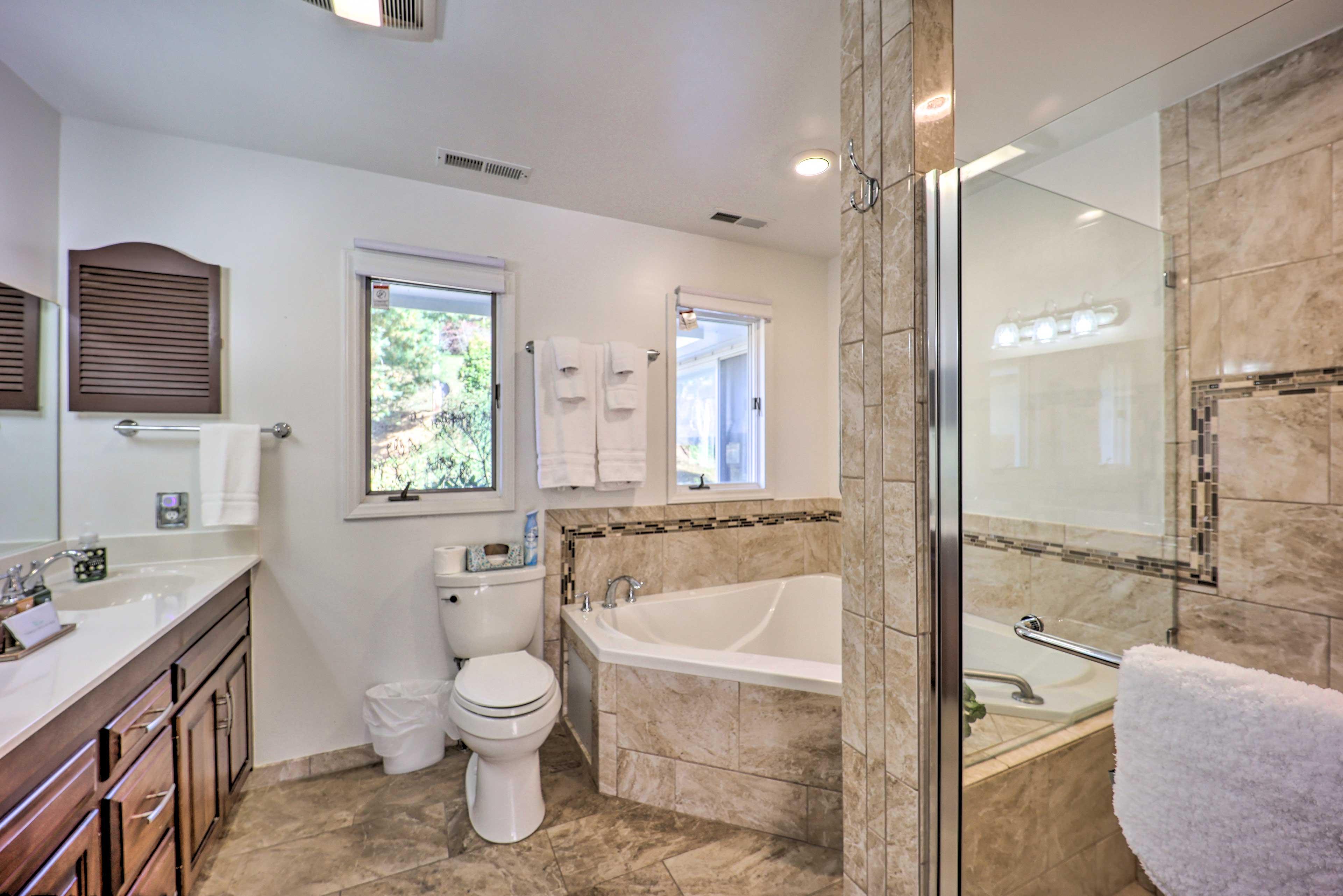 En-Suite Bathroom | Wheelchair Accessible Shower