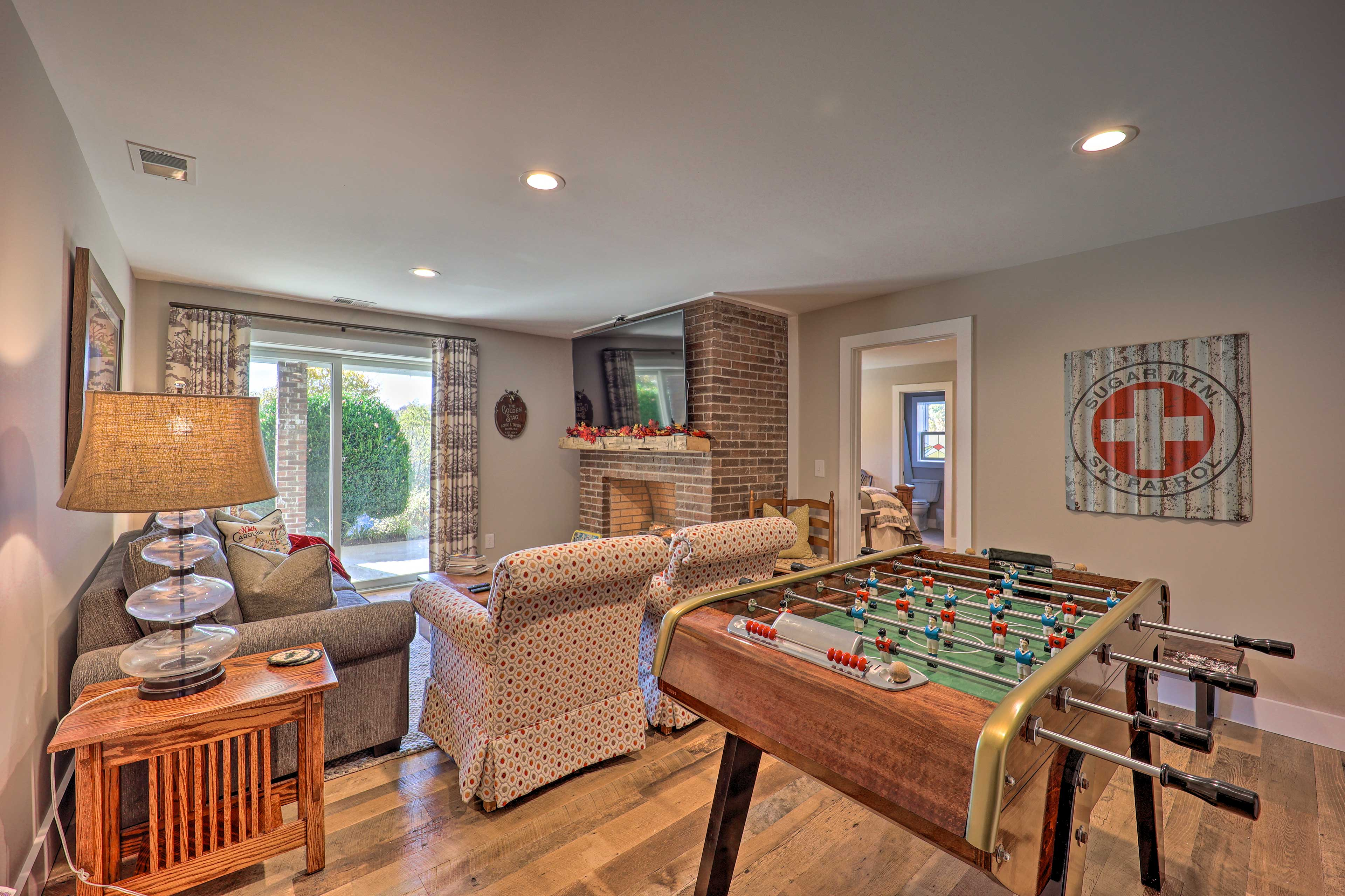 Family Room | Lower Level | Patio Access