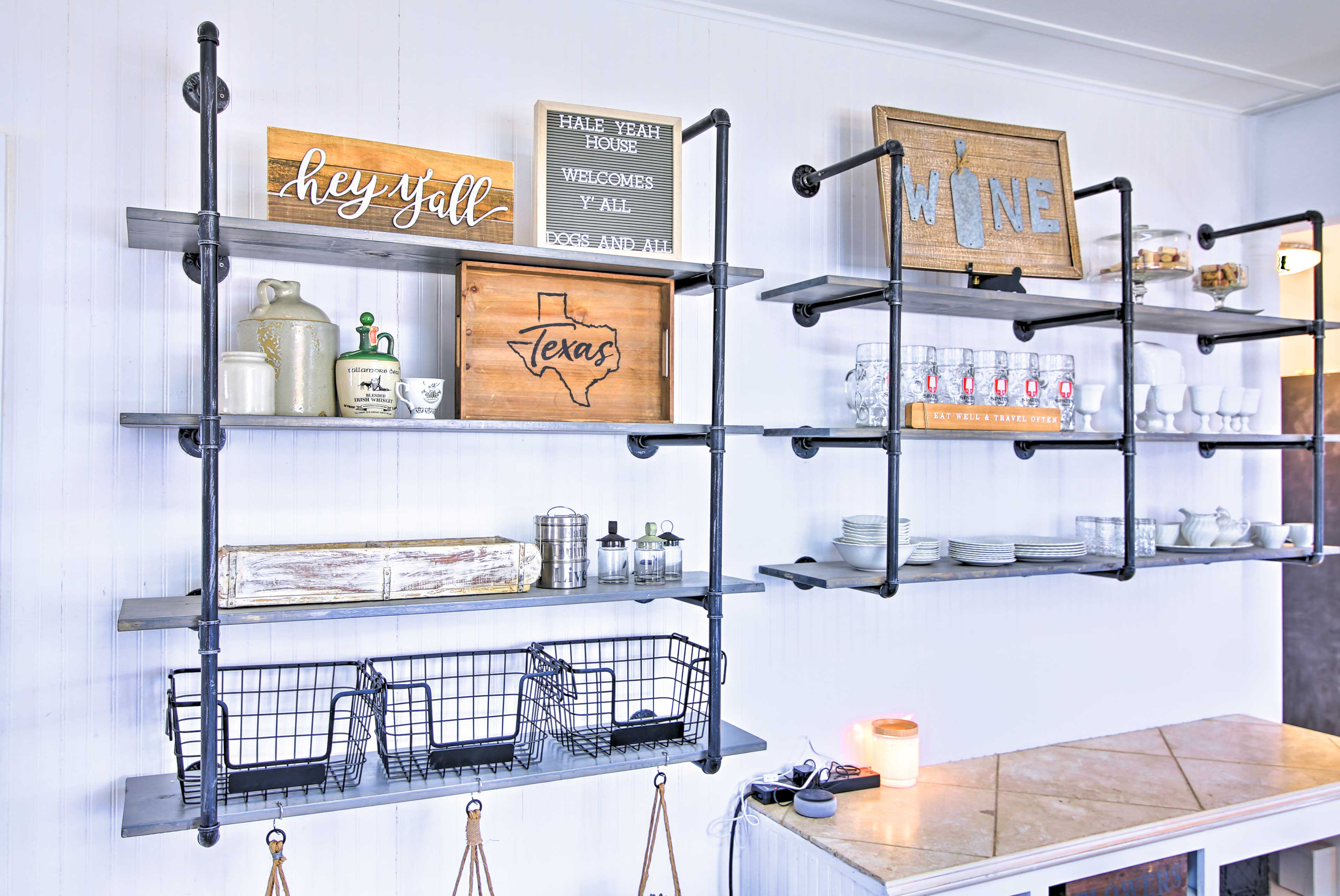 Fully Equipped Kitchen | Bar Cart