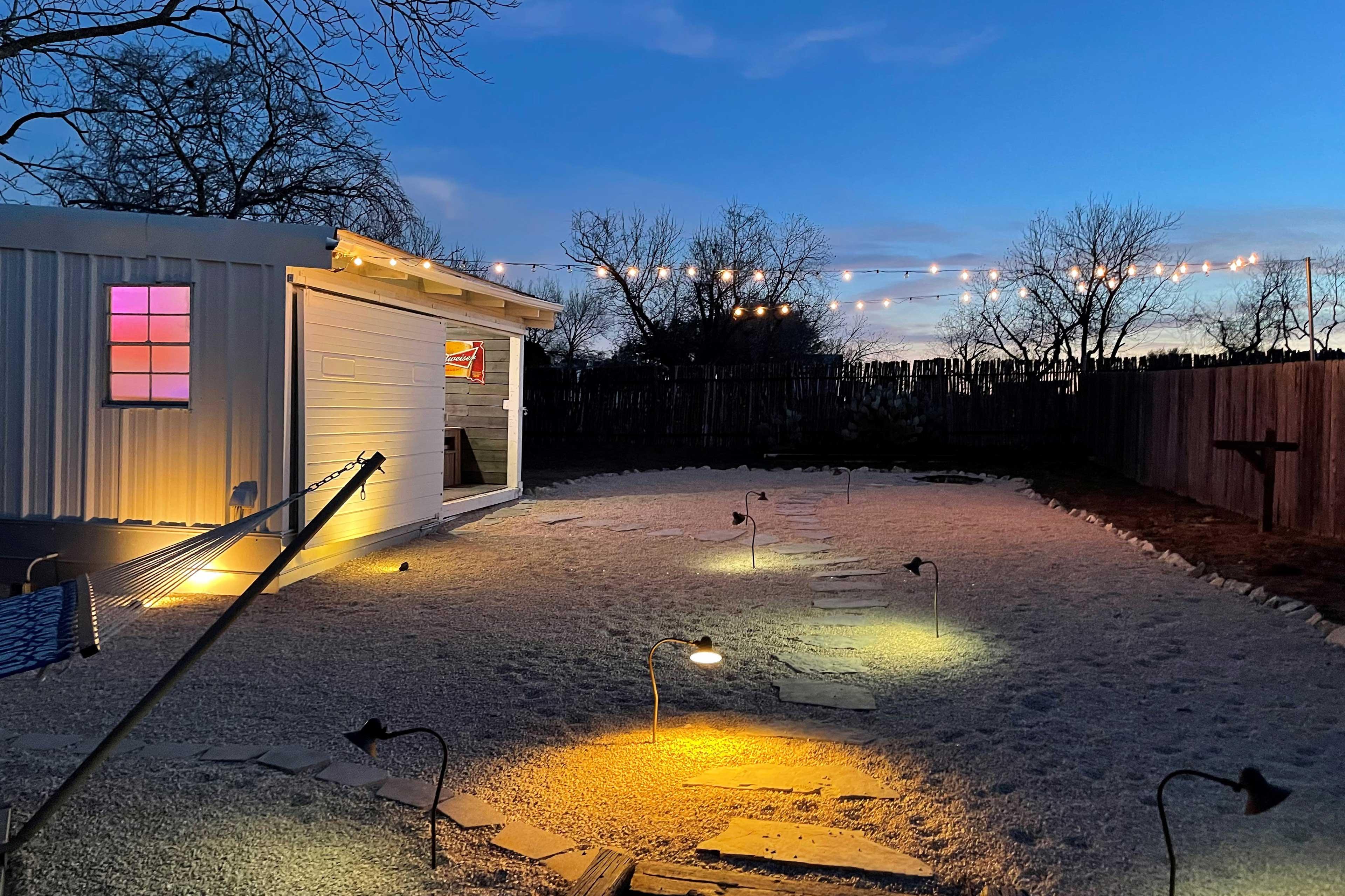 Backyard | Lighting