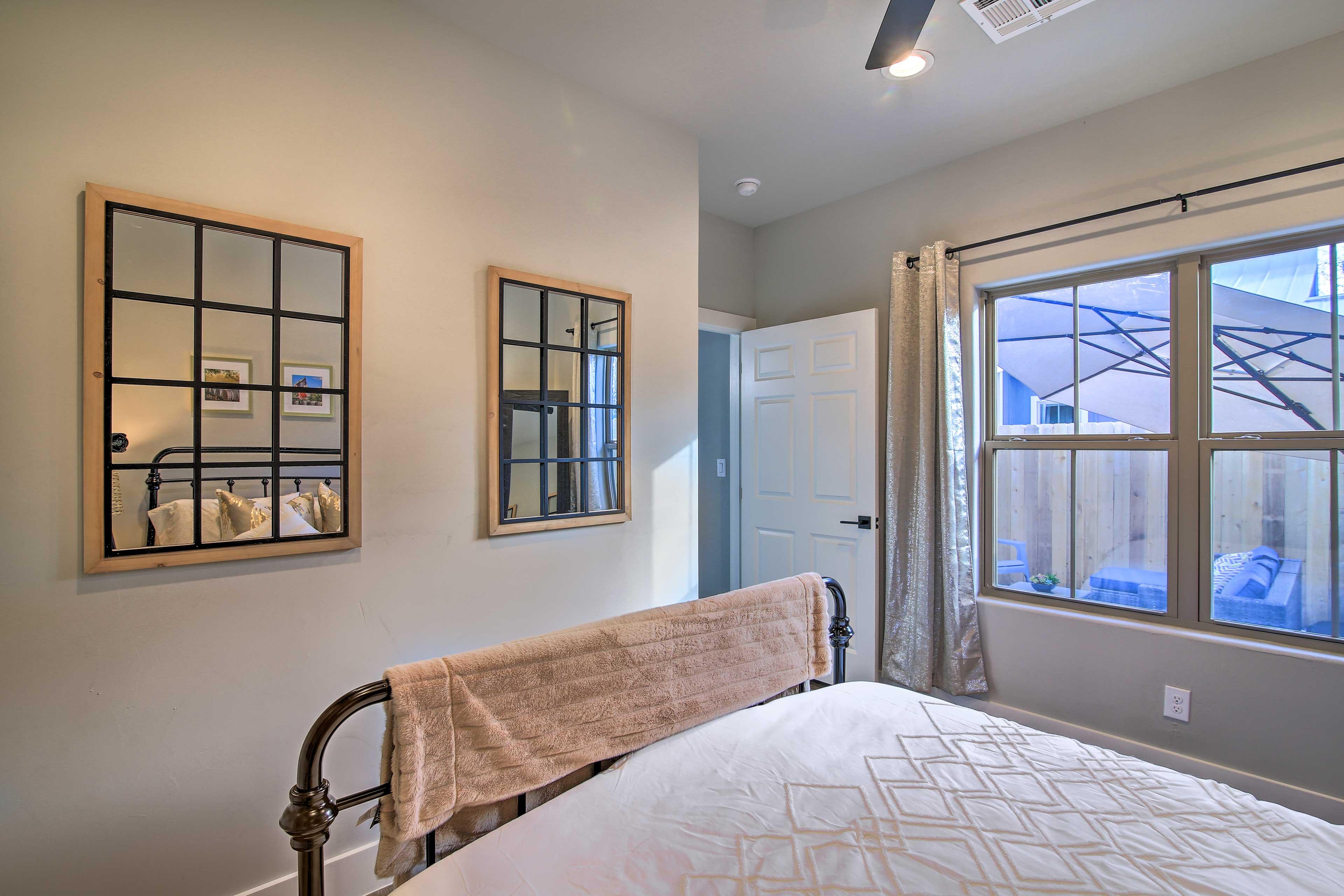 Bedroom | Closet Space w/ Hangers
