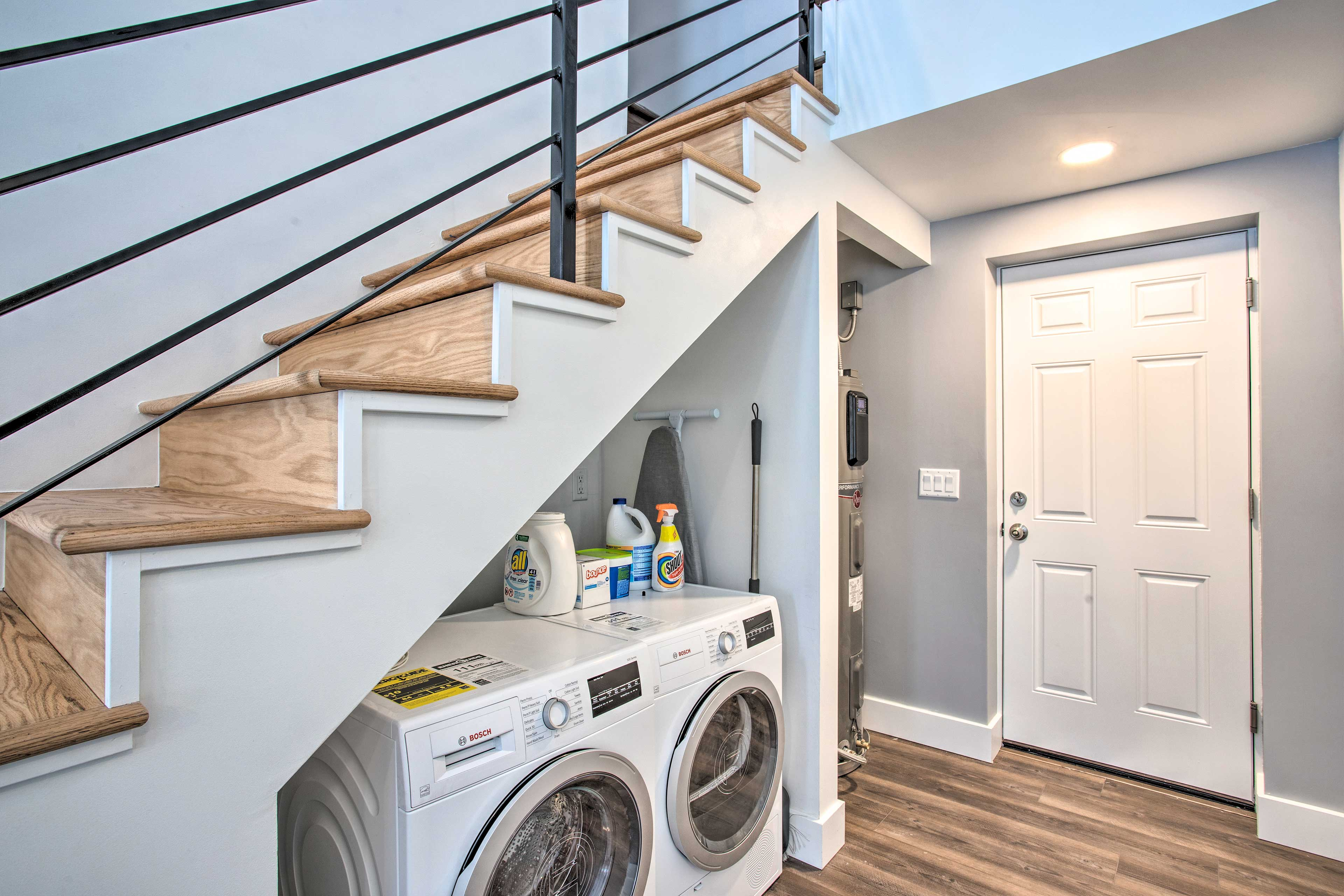 Laundry Area | Detergent Provided