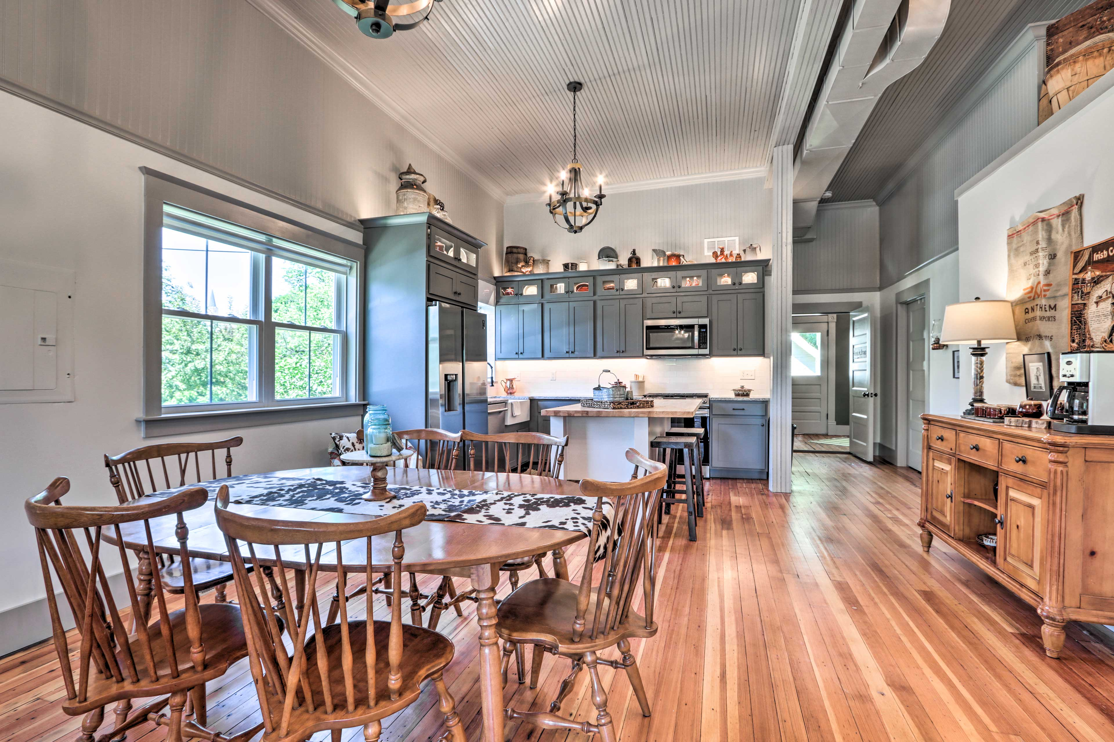 Dining Area | Dishware Provided | Drip Coffee Maker