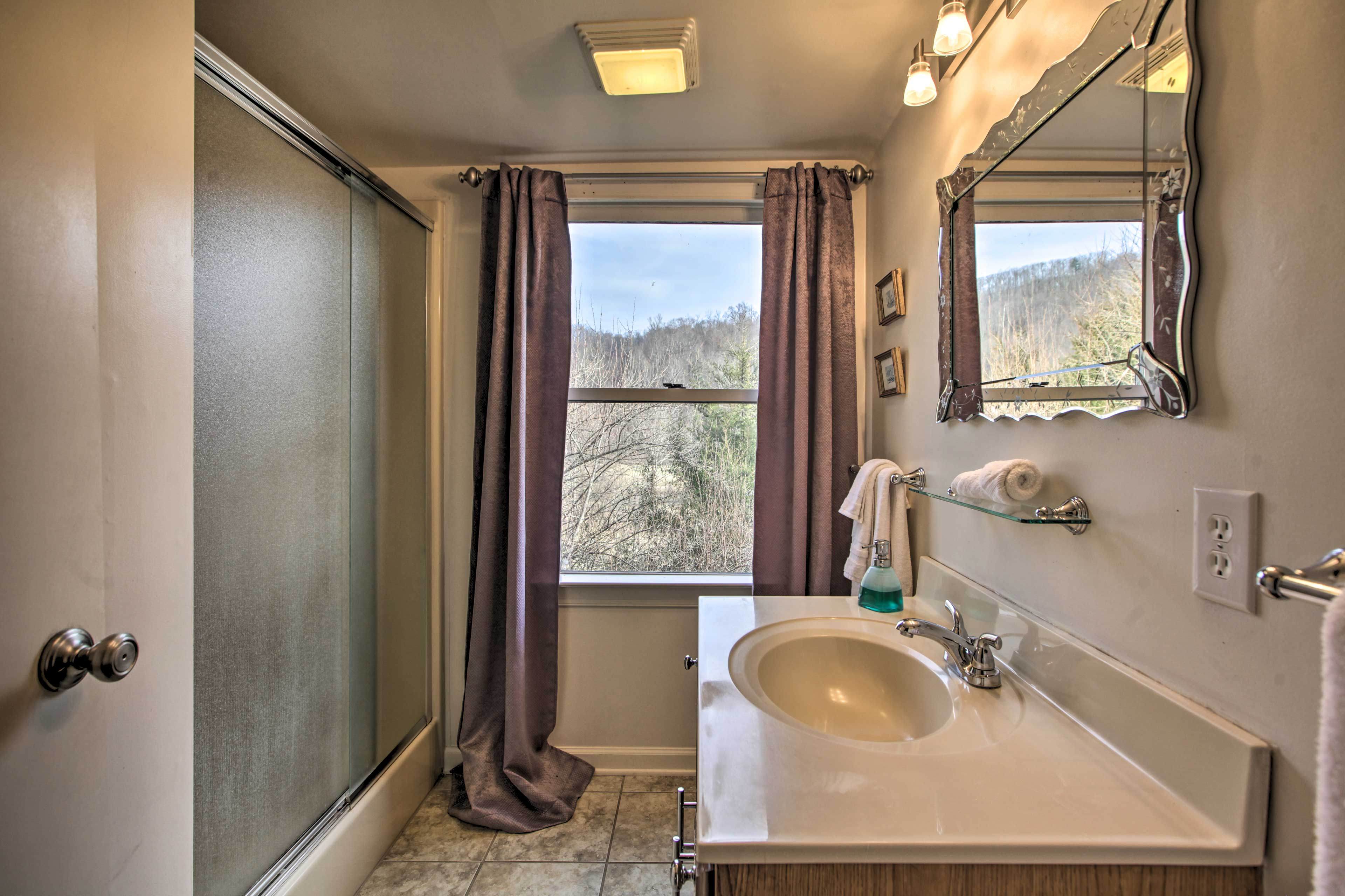 Bathroom | Complimentary Toiletries | Towels & Linens | Hair Dryer