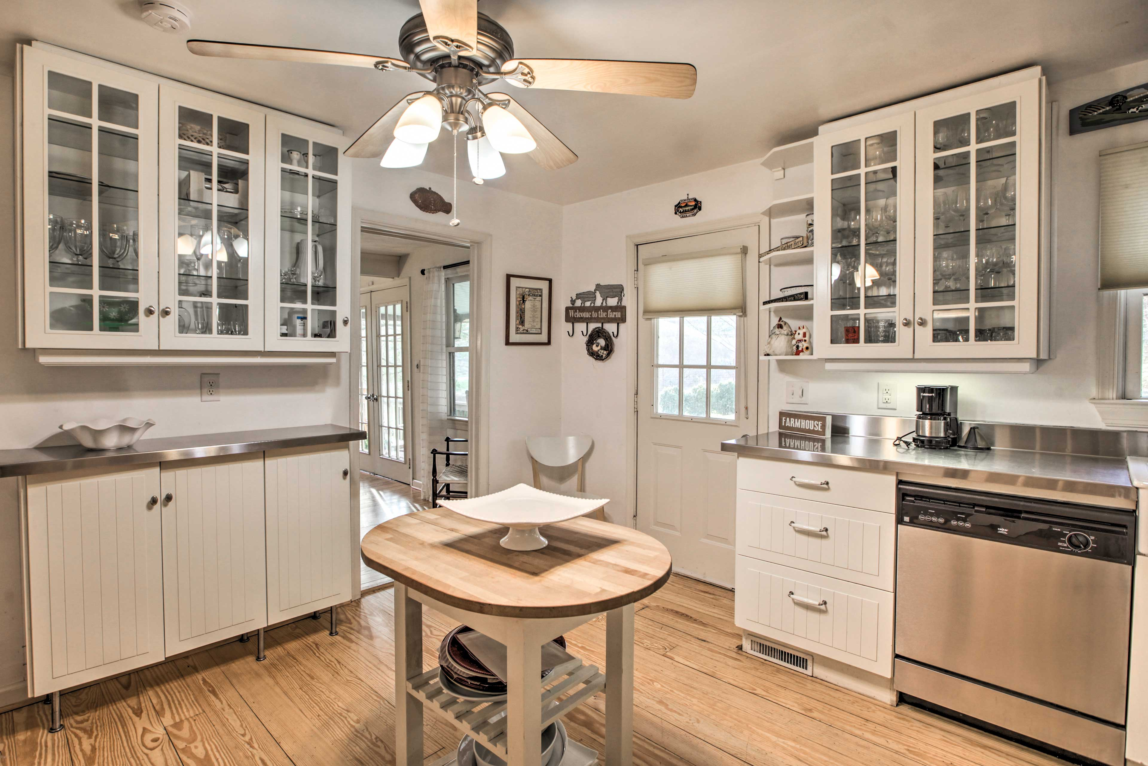 Fully Equipped Kitchen | 1st Floor | Cooking Basics