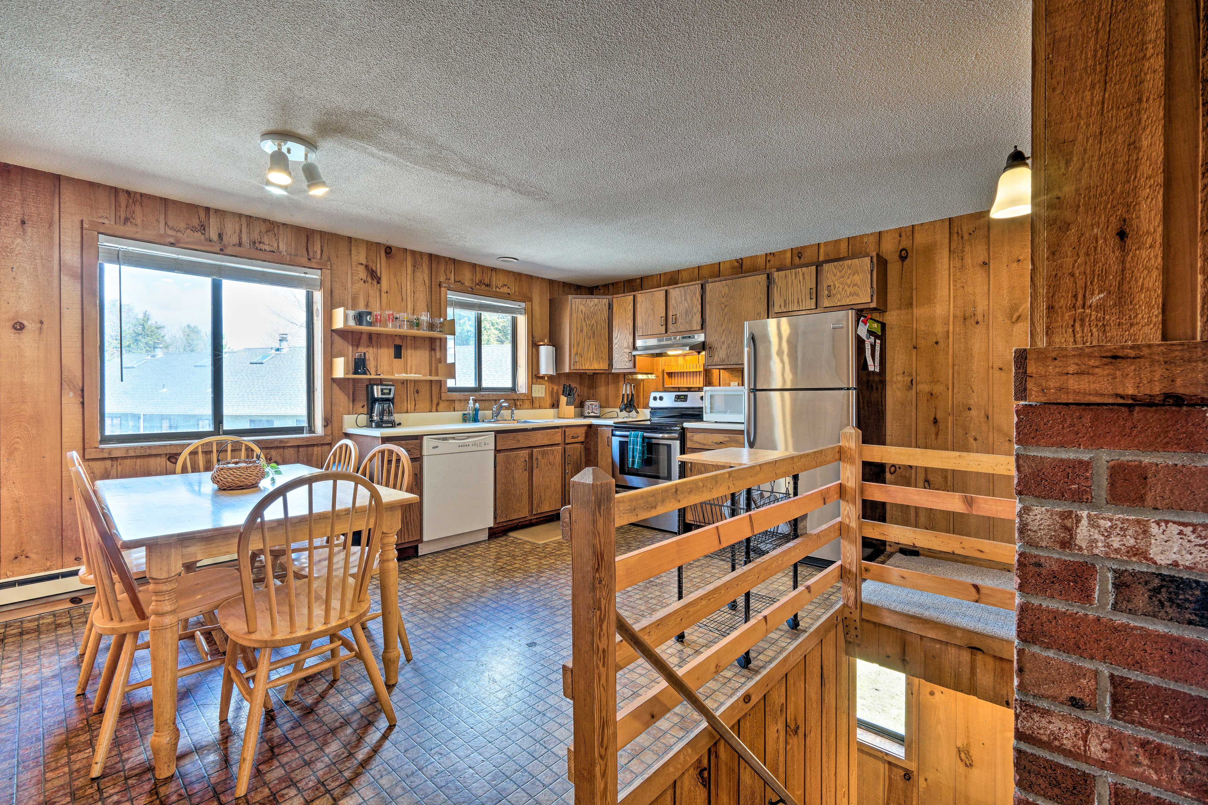 Condo Interior | Fully Equipped Kitchen