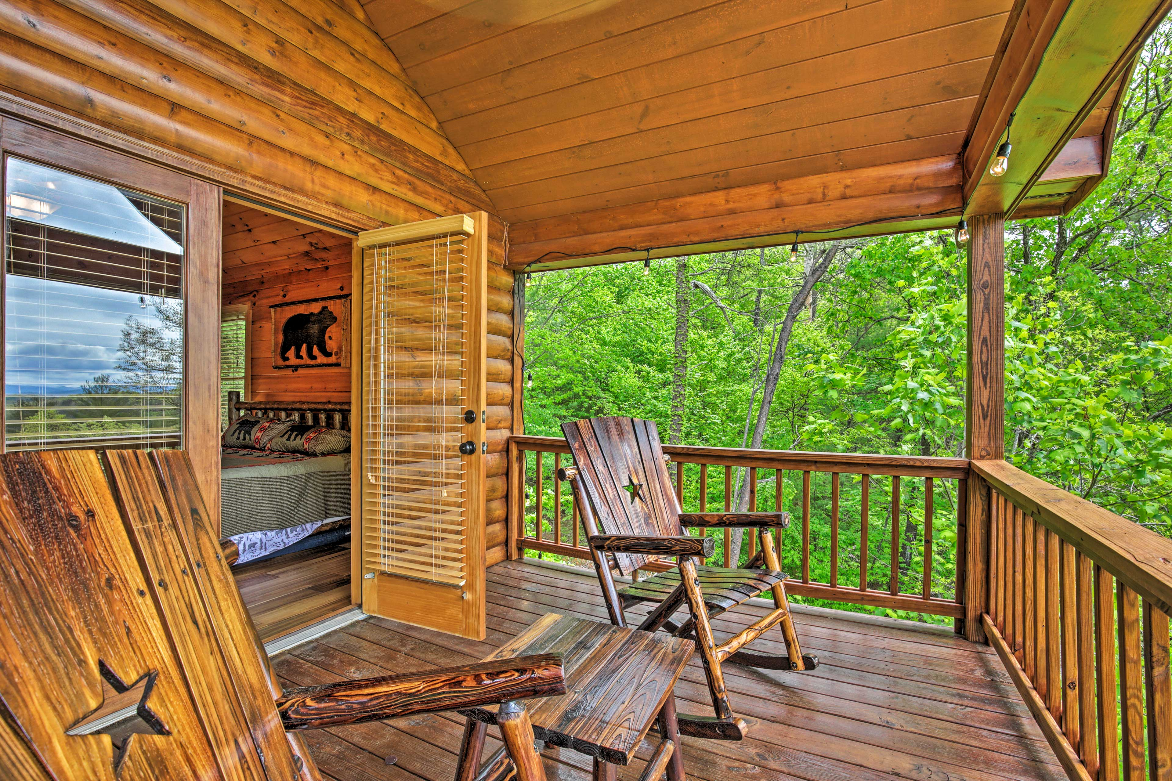 Private Balcony | Access via Bedroom 1