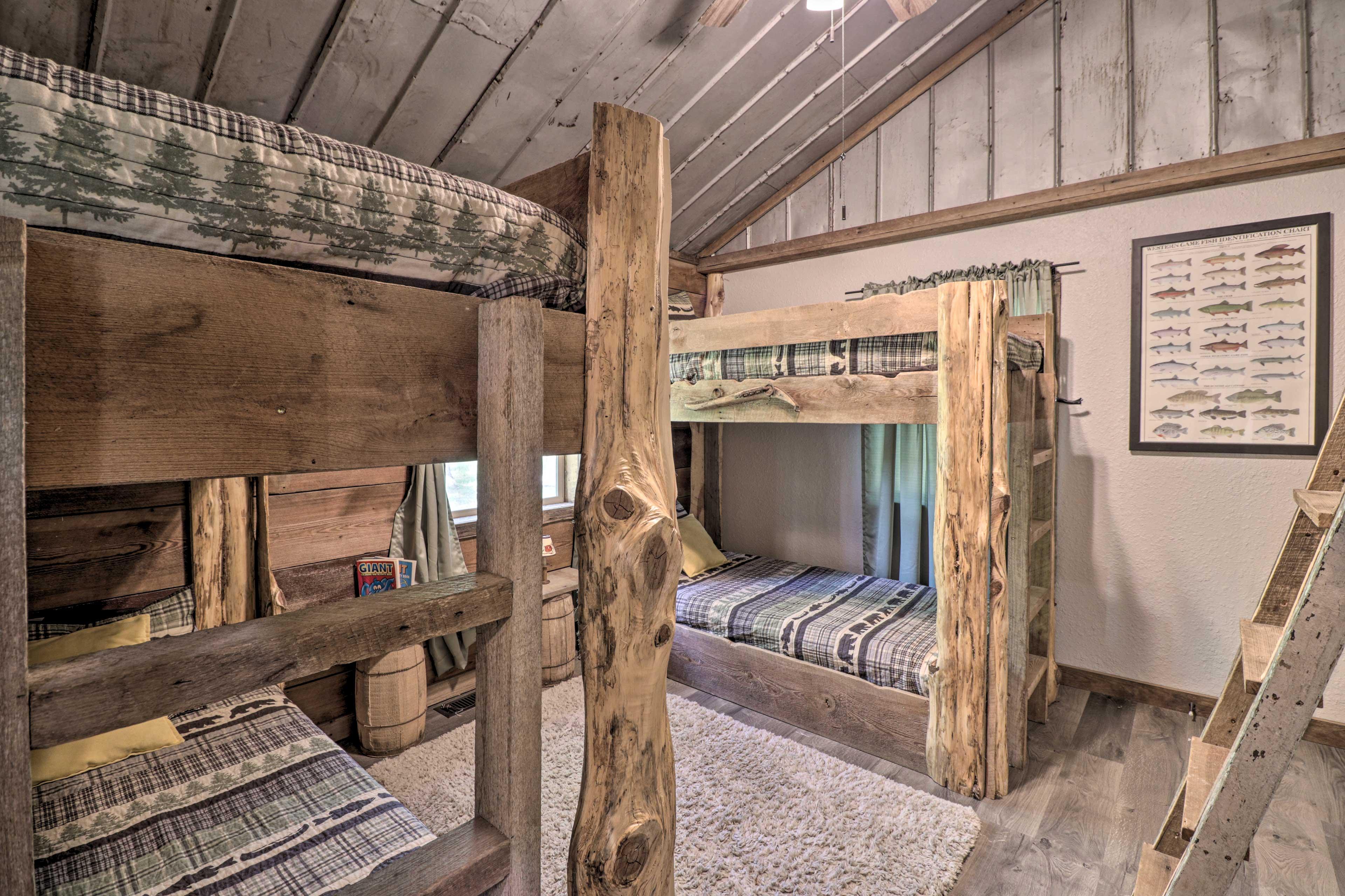 Bedroom 3 | 2 Twin Bunk Beds