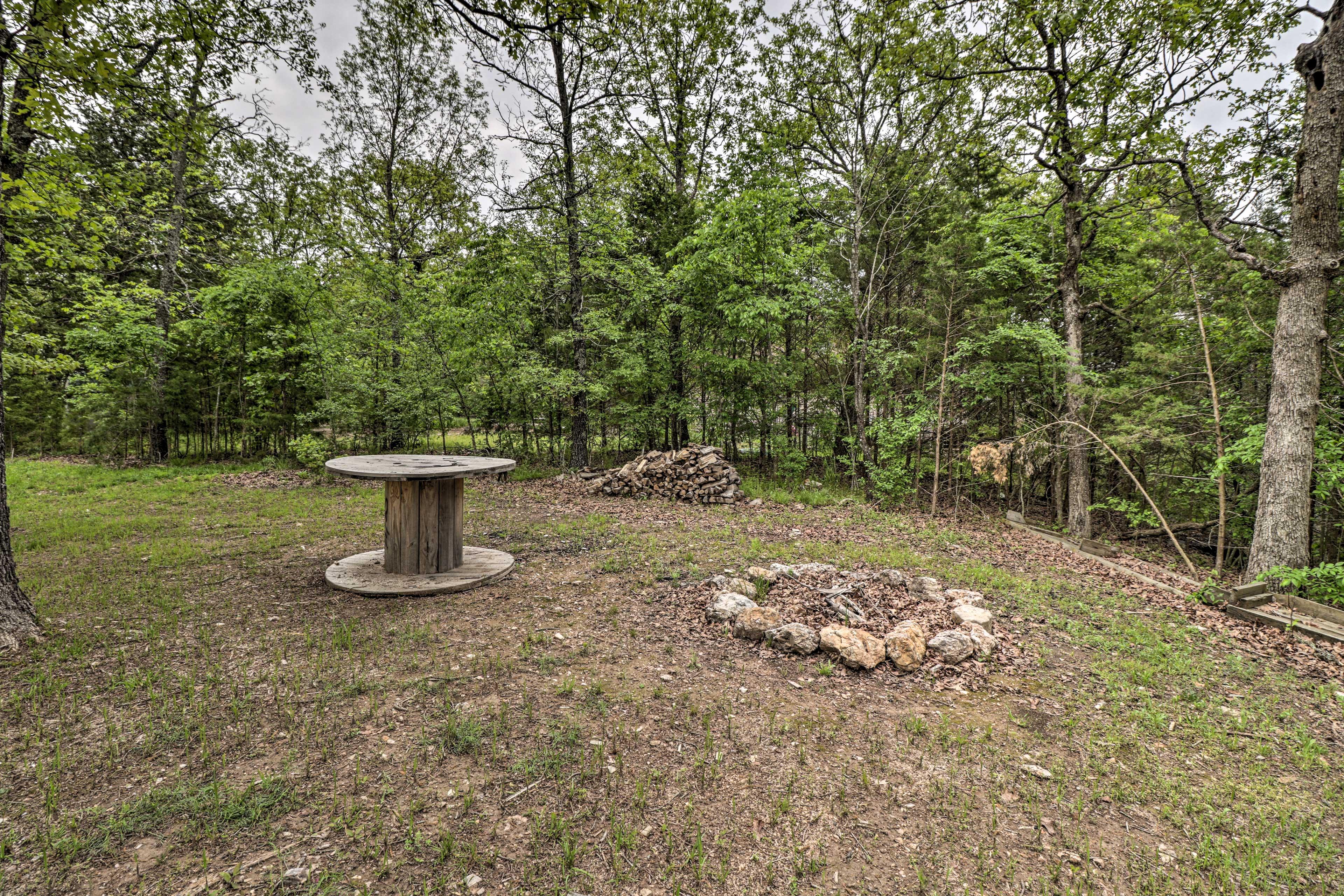 Backyard | Fire Pit