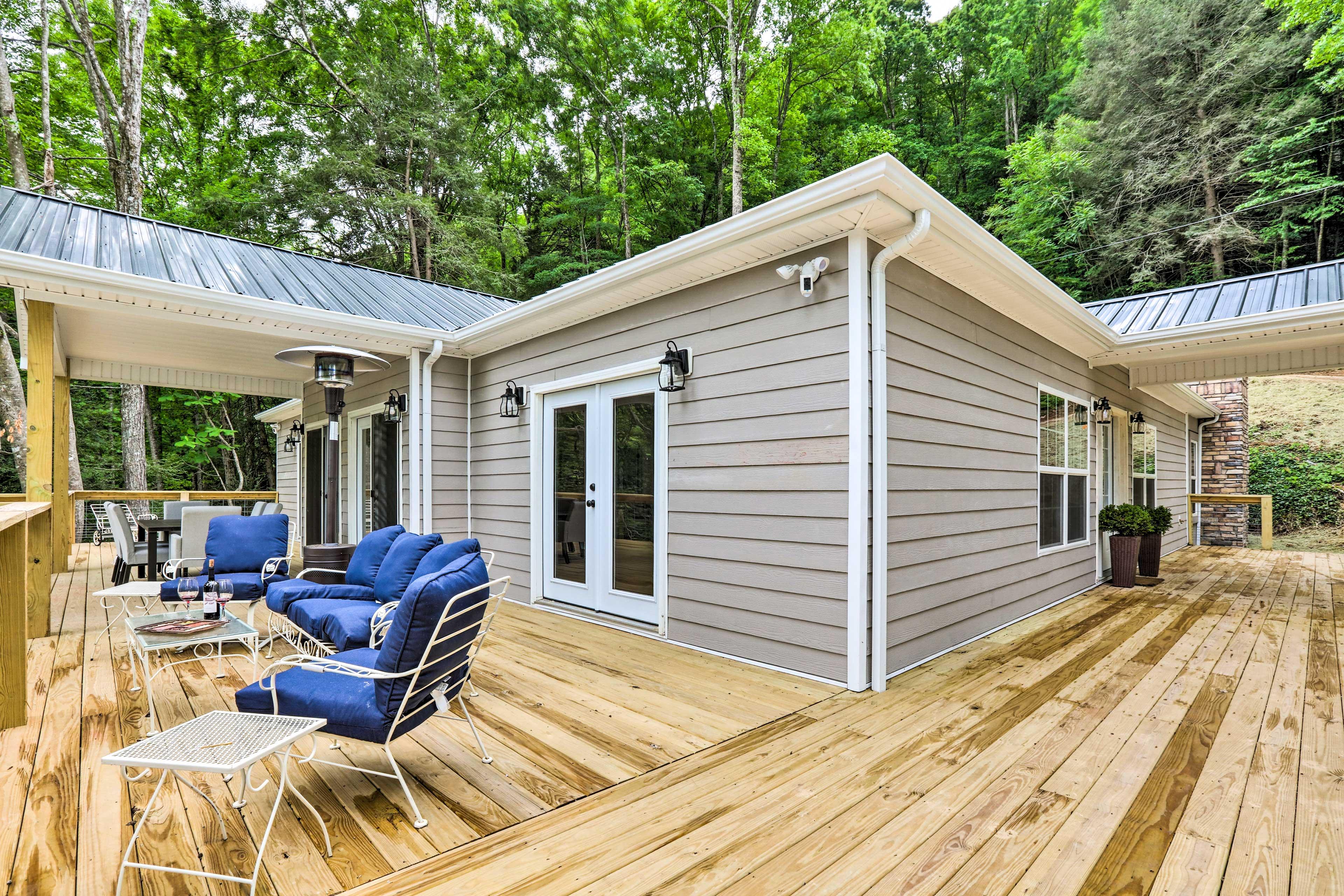 Home Exterior | Wraparound Deck