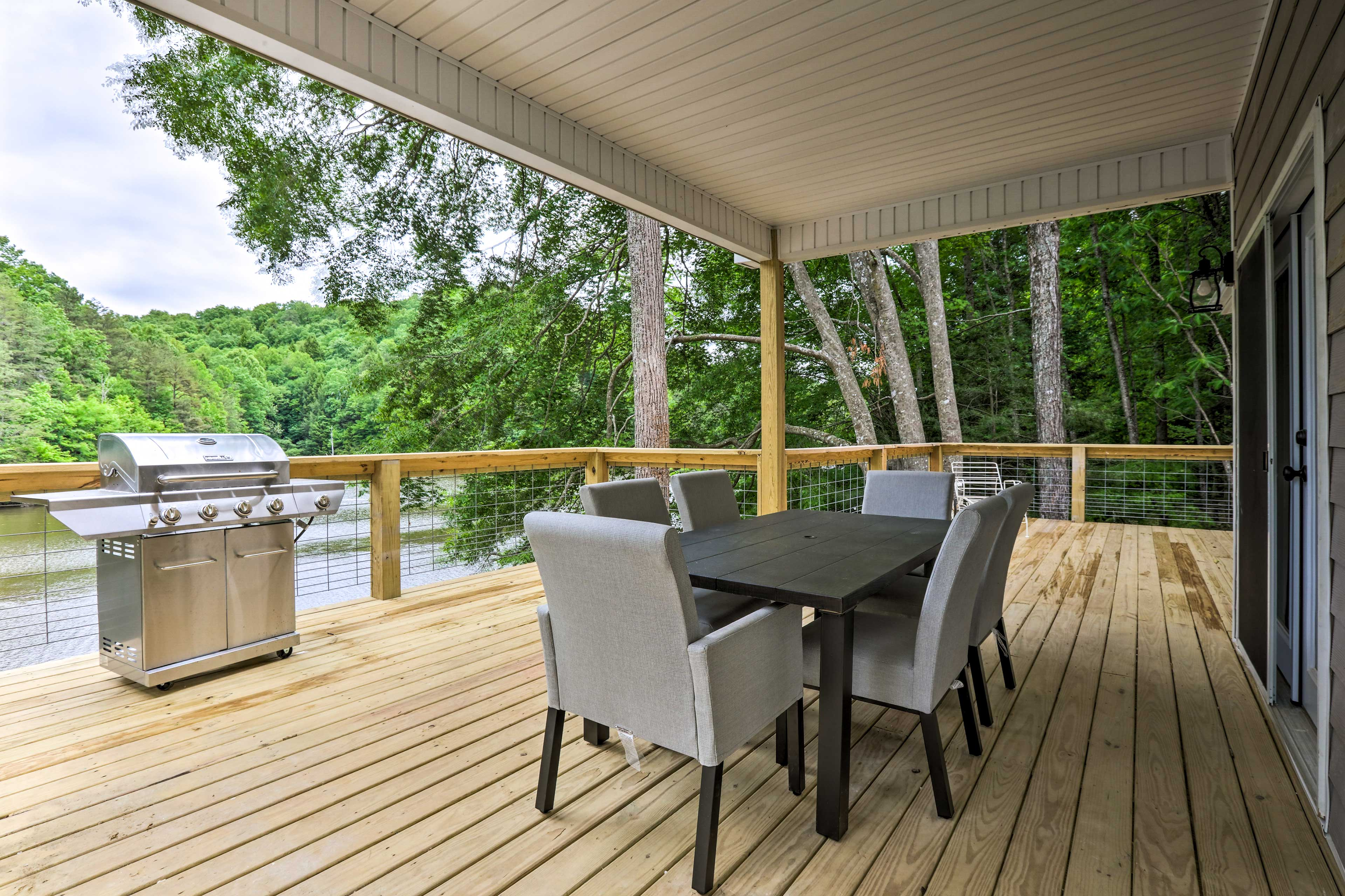 Wraparound Deck | Dining Area | Grilling Station