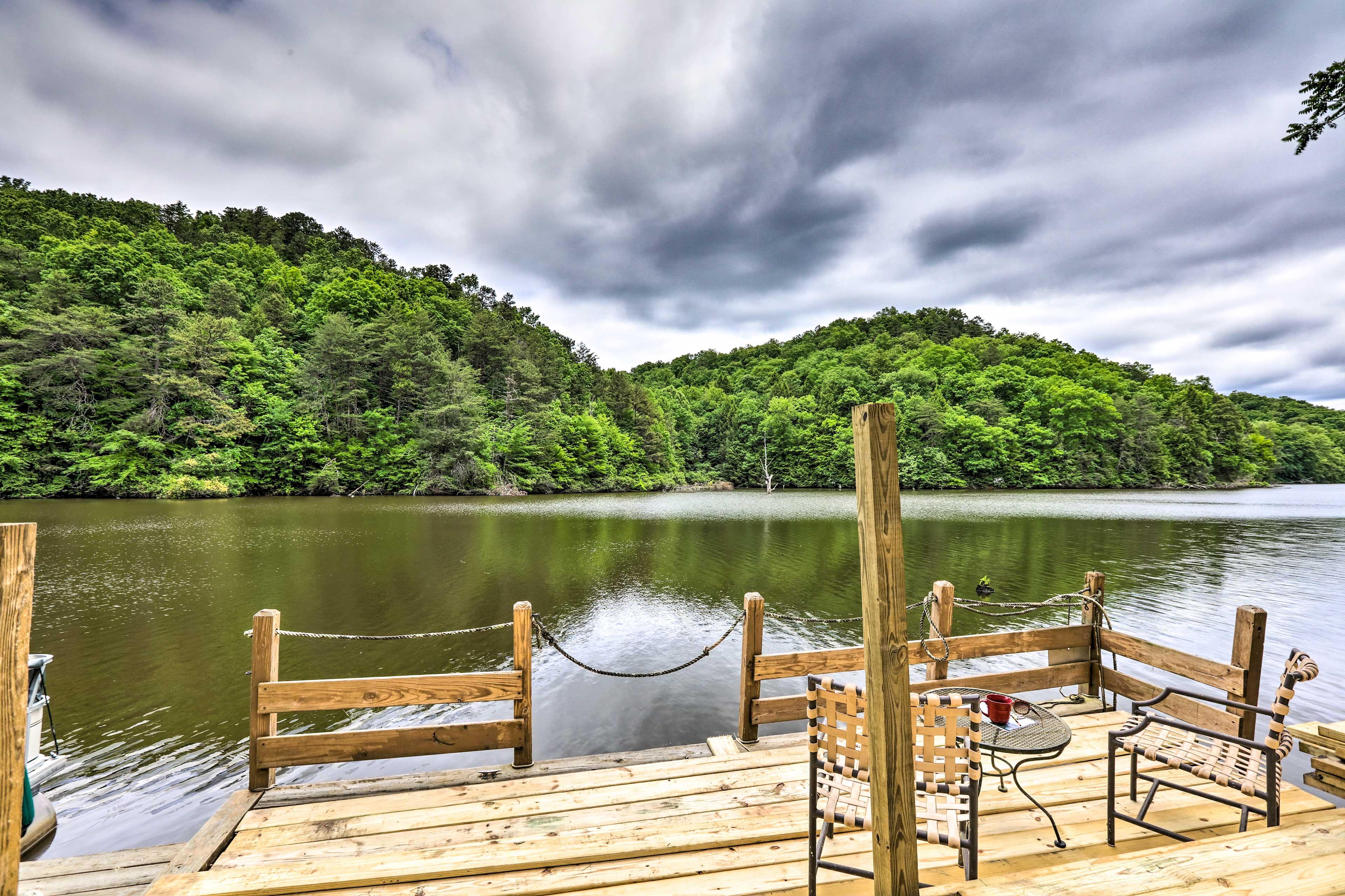 Private Dock & Boat Slip | Wood Creek Lake Access