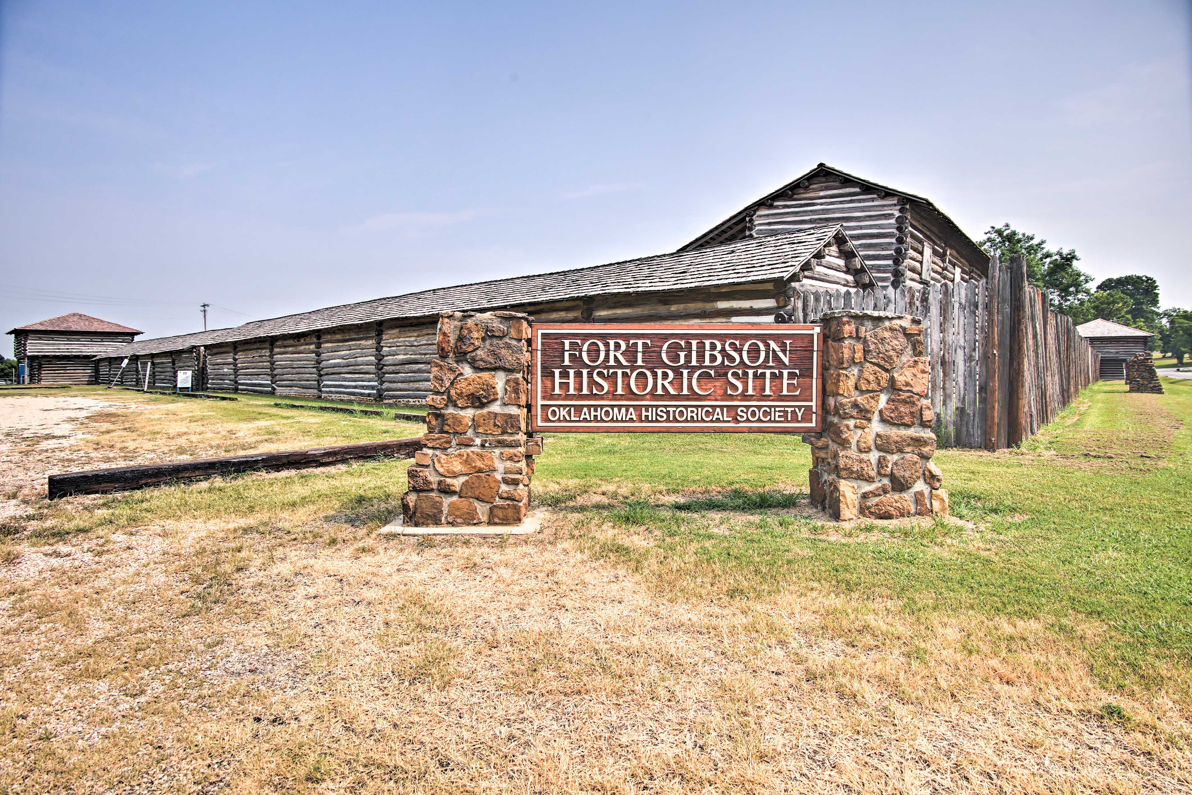 Surrounding Area   Fort Gibson Historic Site
