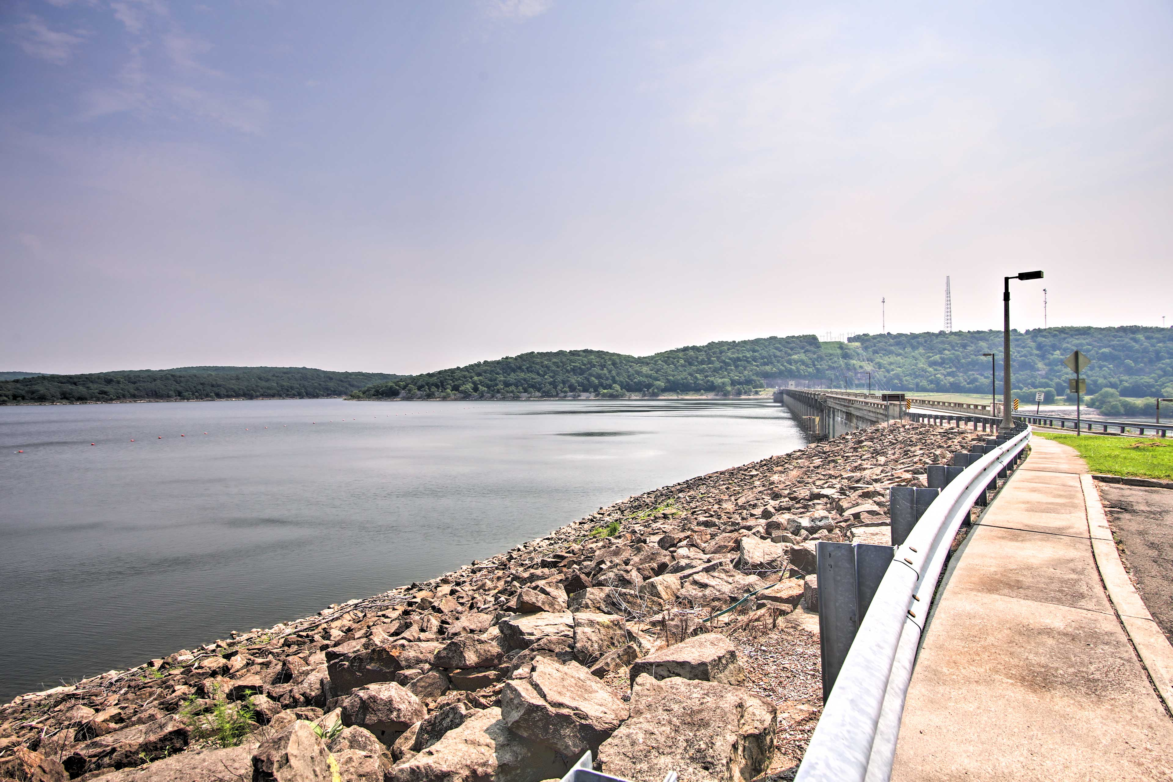Surrounding Area   Fort Gibson Lake Dam