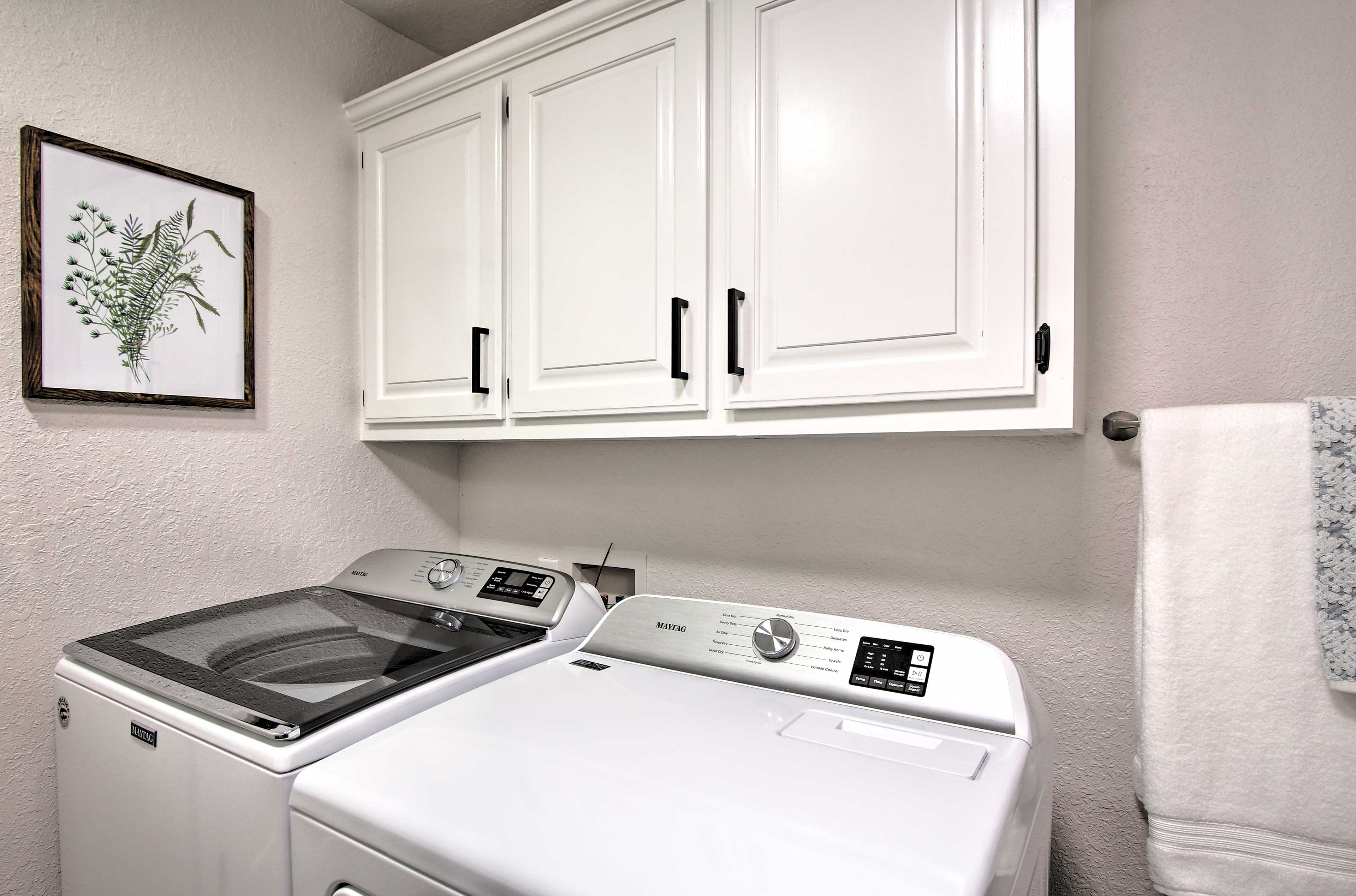 In-Unit Washer & Dryer   Located in Bathroom