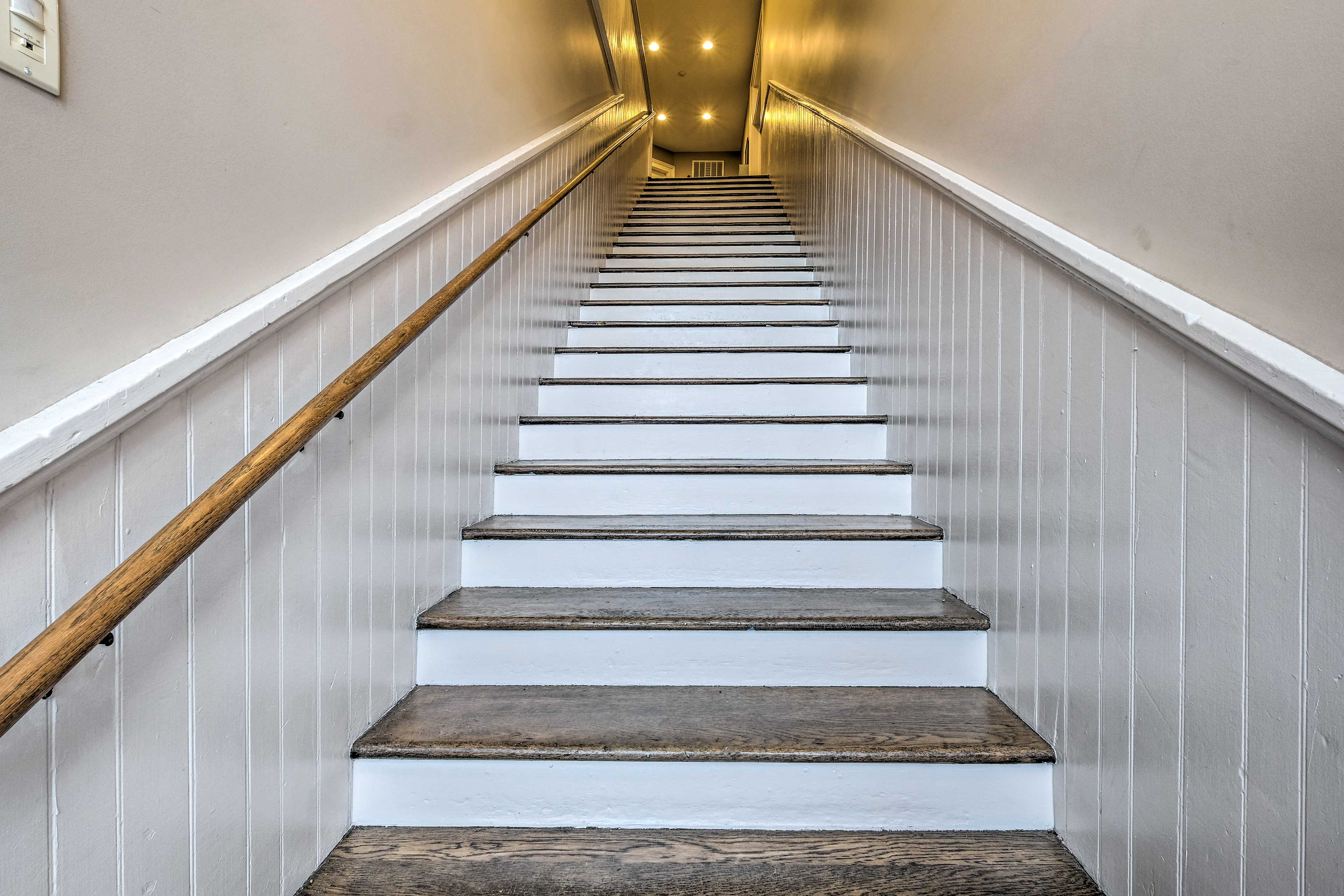 Stairway to the 2nd-Floor Unit