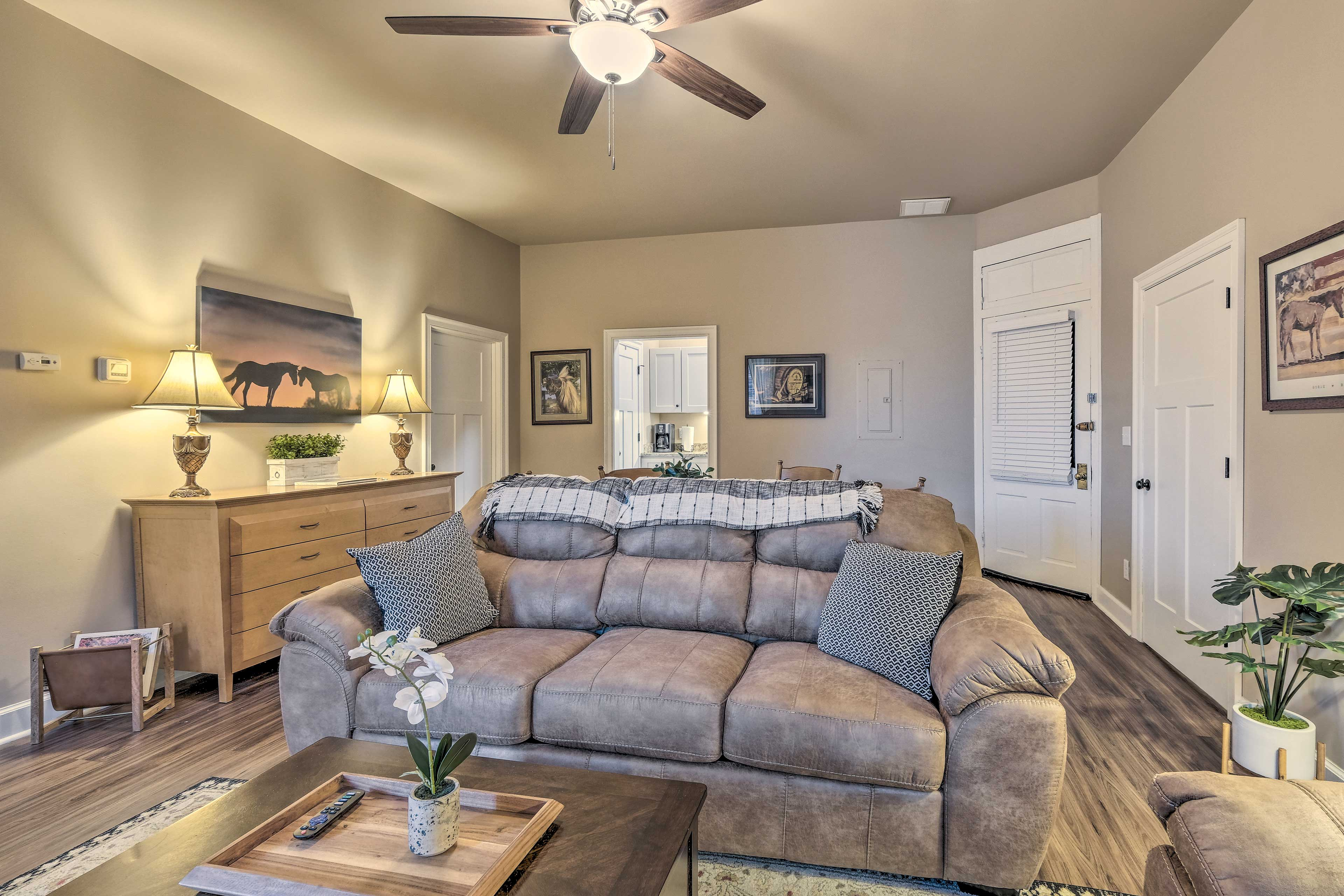Living Room | Floor-to-Ceiling Windows
