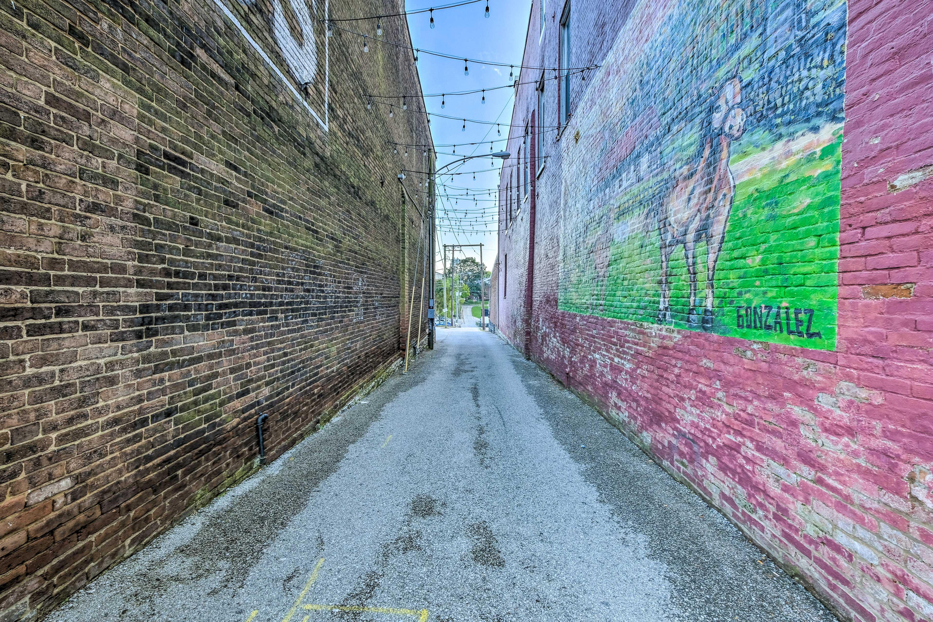 Alleyway Building Entrance