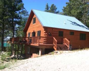 Fantastic 2BR + Loft Cabin In The Black Hills   3/4 Mile From The