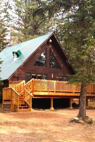 view exterior hills terry peak for lodge directory cabins rent the black cabin in snow