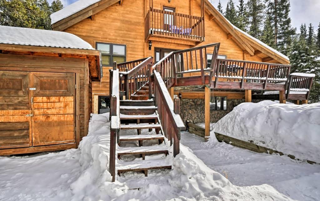 Breckenridge Cabin w/ Private Hot Tub!