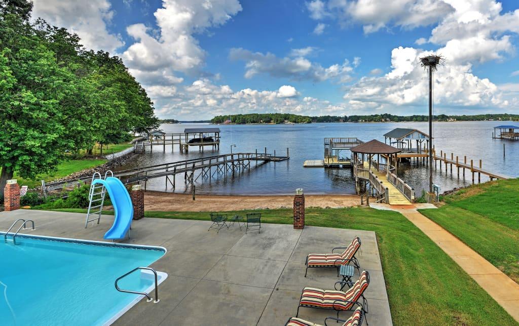 2BR Lake Norman Duplex w/Private Pool & Gazebo!