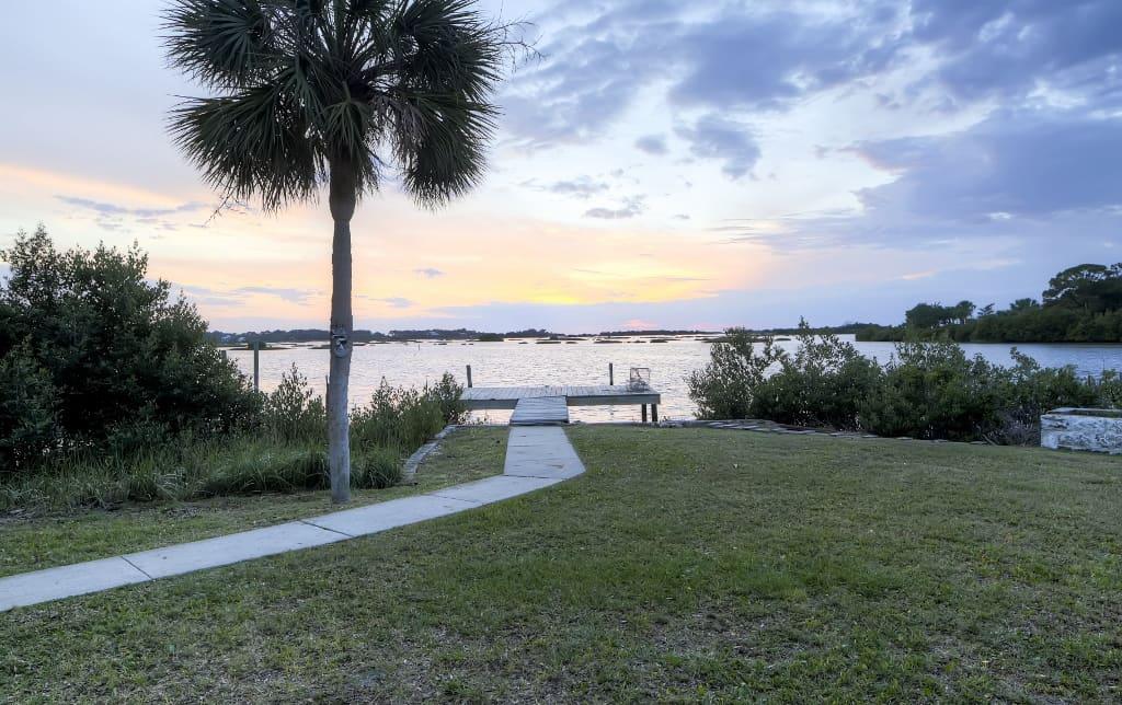 2br Cedar Key Duplex House Wdock Ocean Views