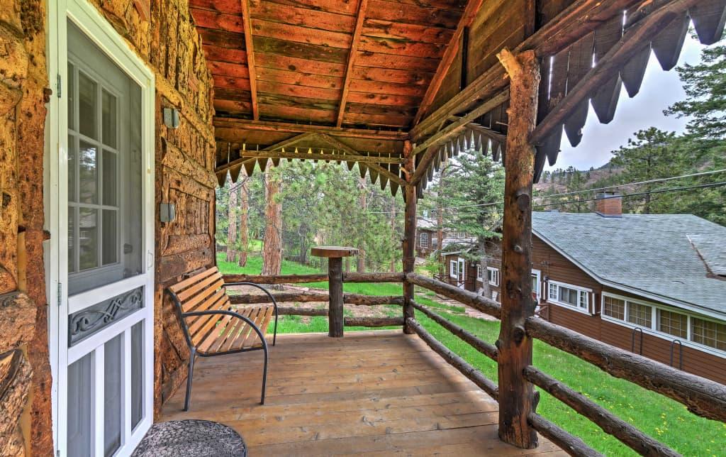 Starry Nights Green Mountain Falls Log Cabin