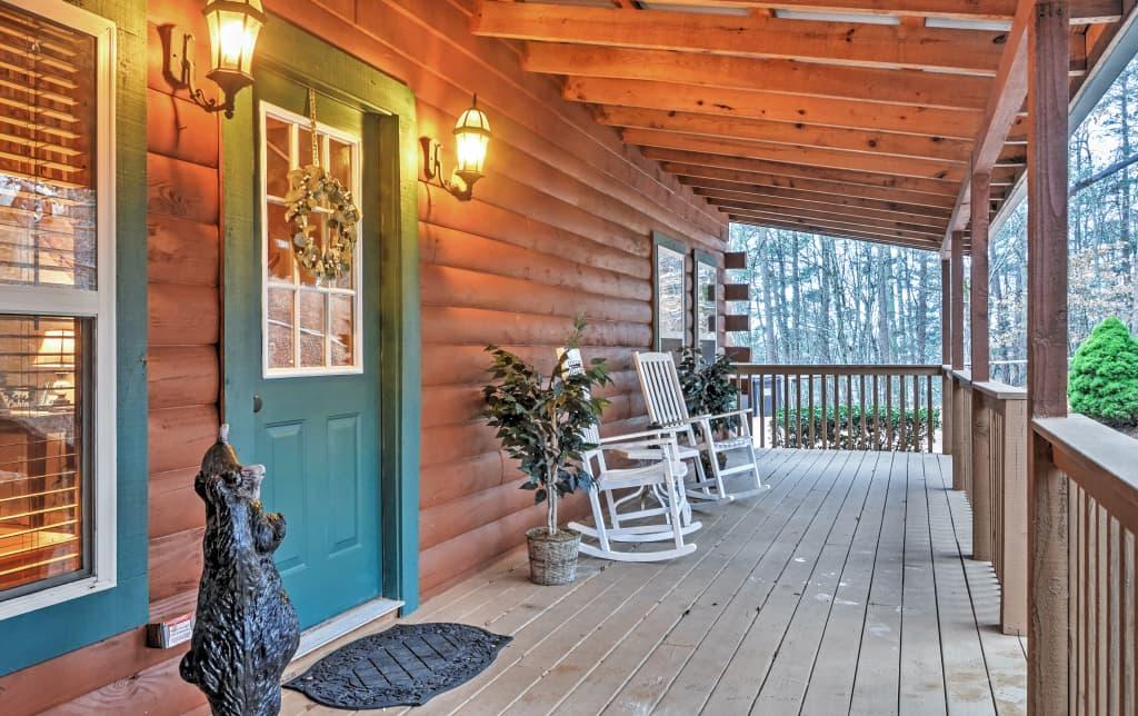 ellijay ga rentals canoe big book a in rental home cabins cabin