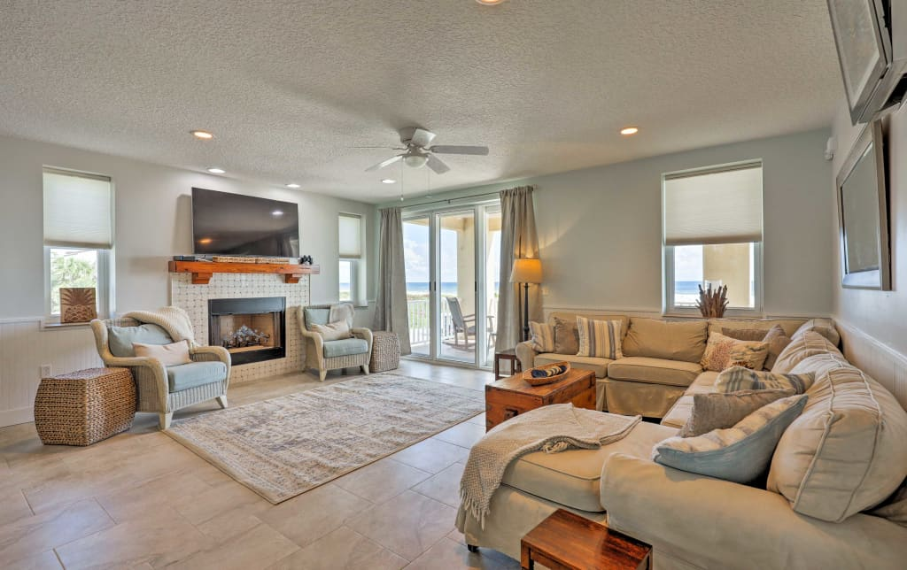 Prime St Augustine House W Direct Beach Access Home Interior And Landscaping Ponolsignezvosmurscom