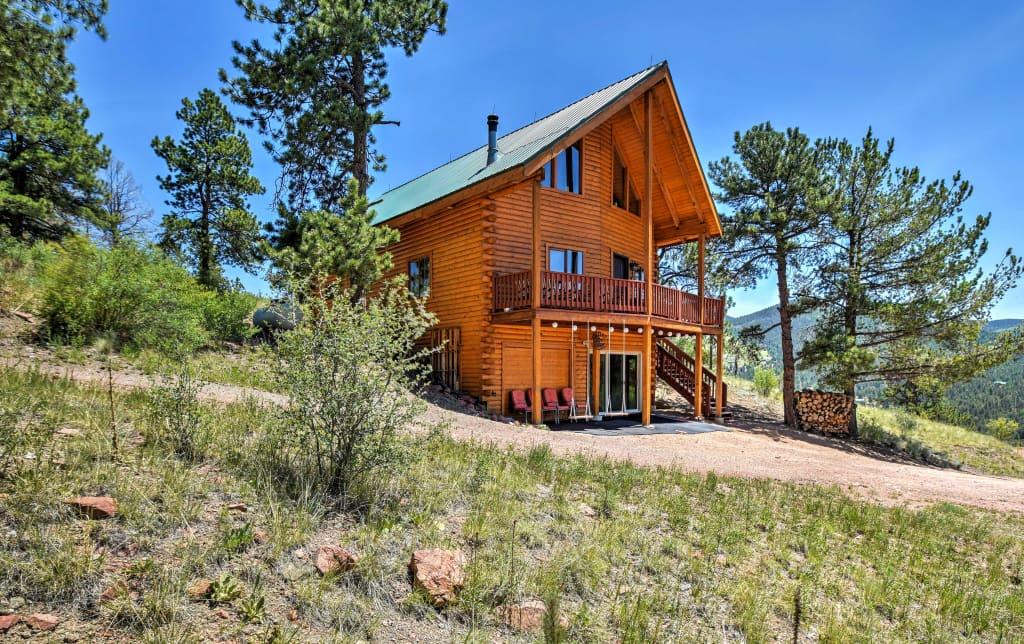 Brilliant Cripple Creek Cabin W Wraparound Deck Mtn Views Download Free Architecture Designs Parabritishbridgeorg