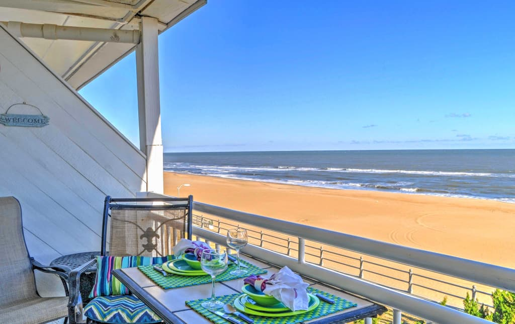 Oceanfront Virginia Beach Studio W Community Pool